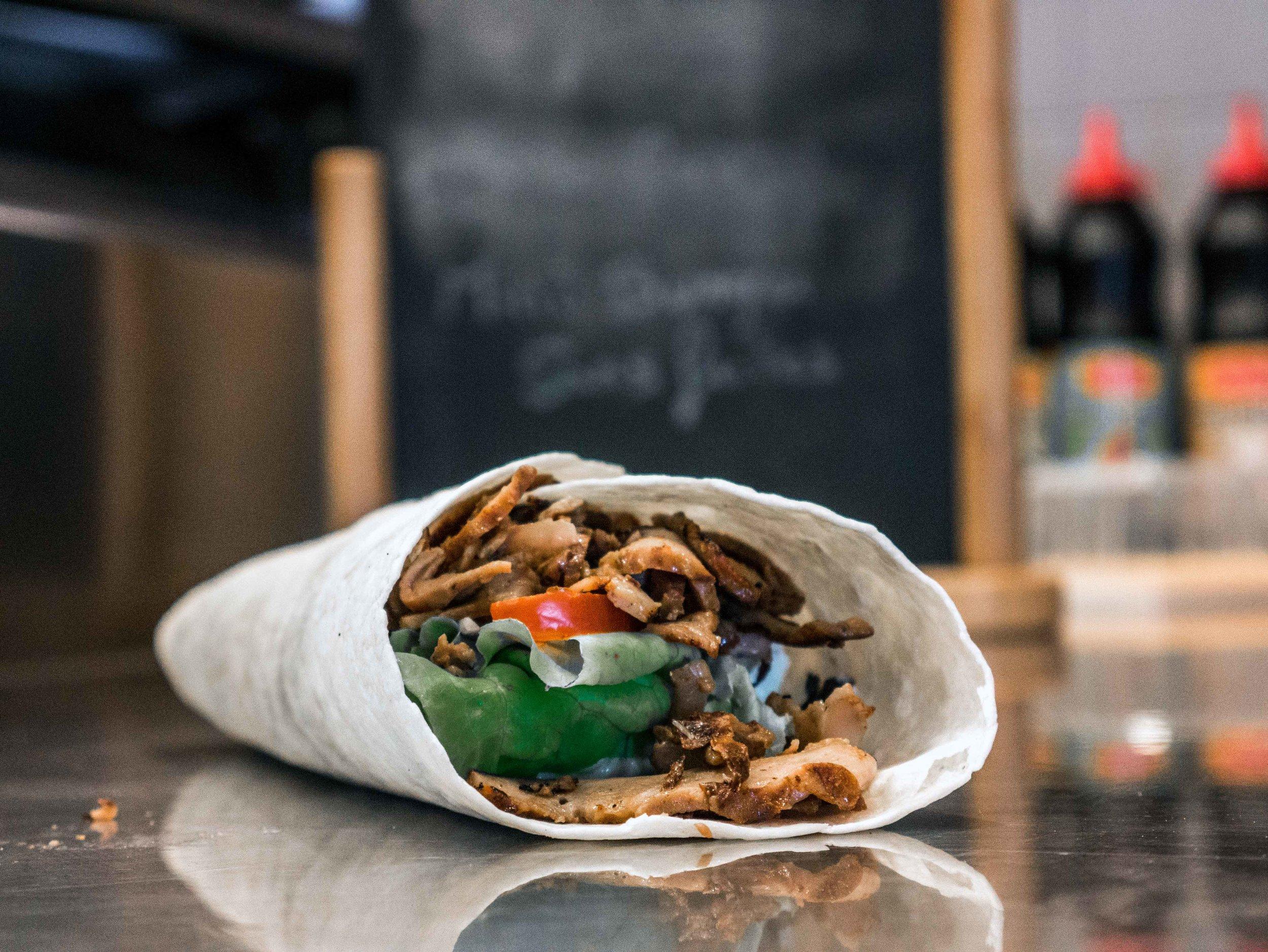 Un bon kebab qui n'attend plus que vous chez Lé Gars Ré.