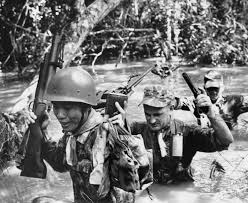 US military personnel in South Vietnam, August 1963 (AP Photo)