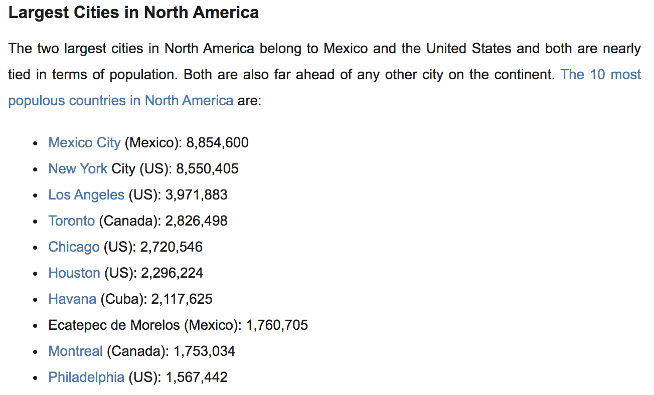 Source:  http://worldpopulationreview.com/continents/north-america-population/