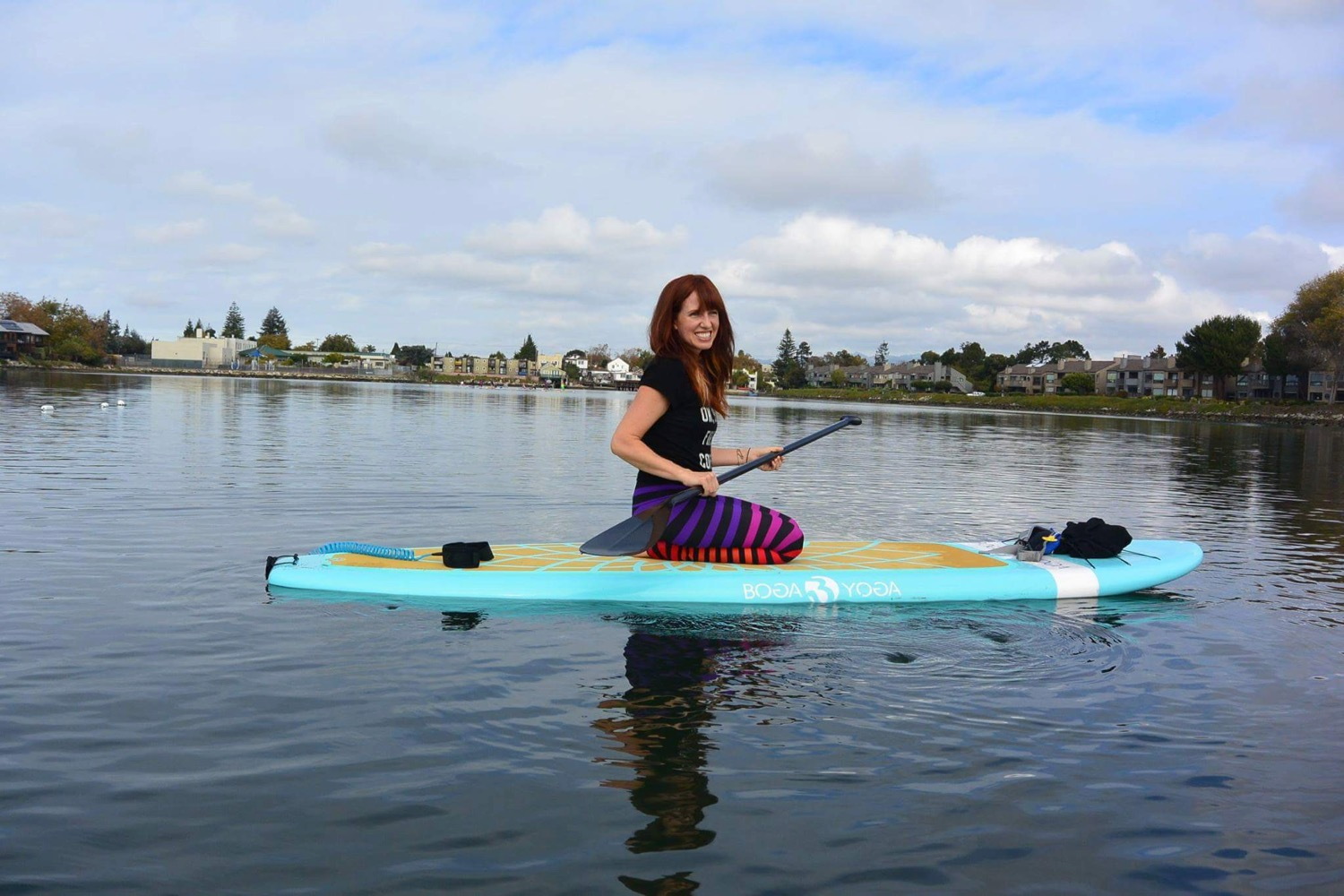 Boga Yoga Flow - Come join me at Mikes Paddle in Alameda for a 2 hour specialty SUP Yoga class on the Bay. Cost: $55