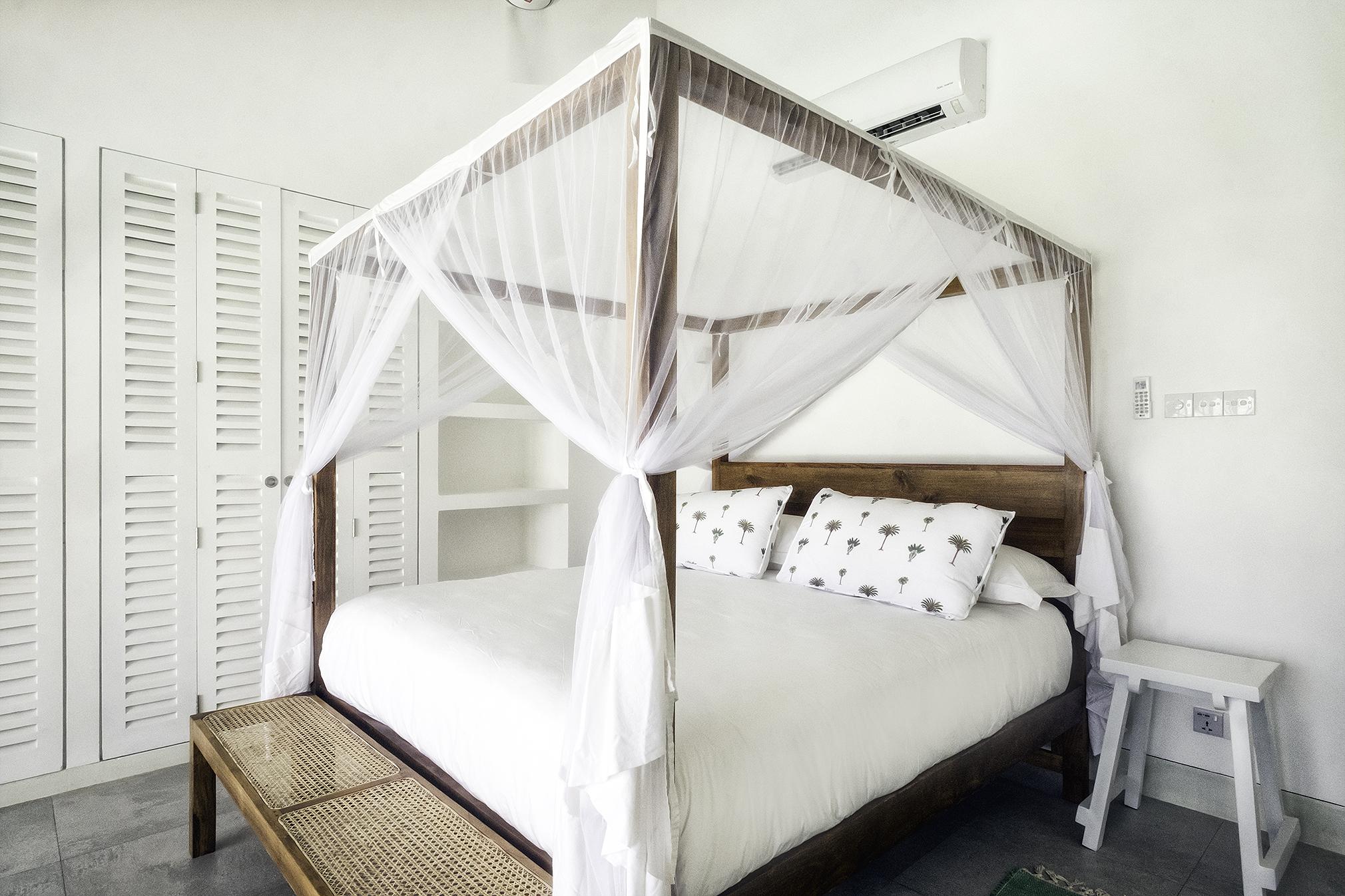 Bedroom 1 with ocean view