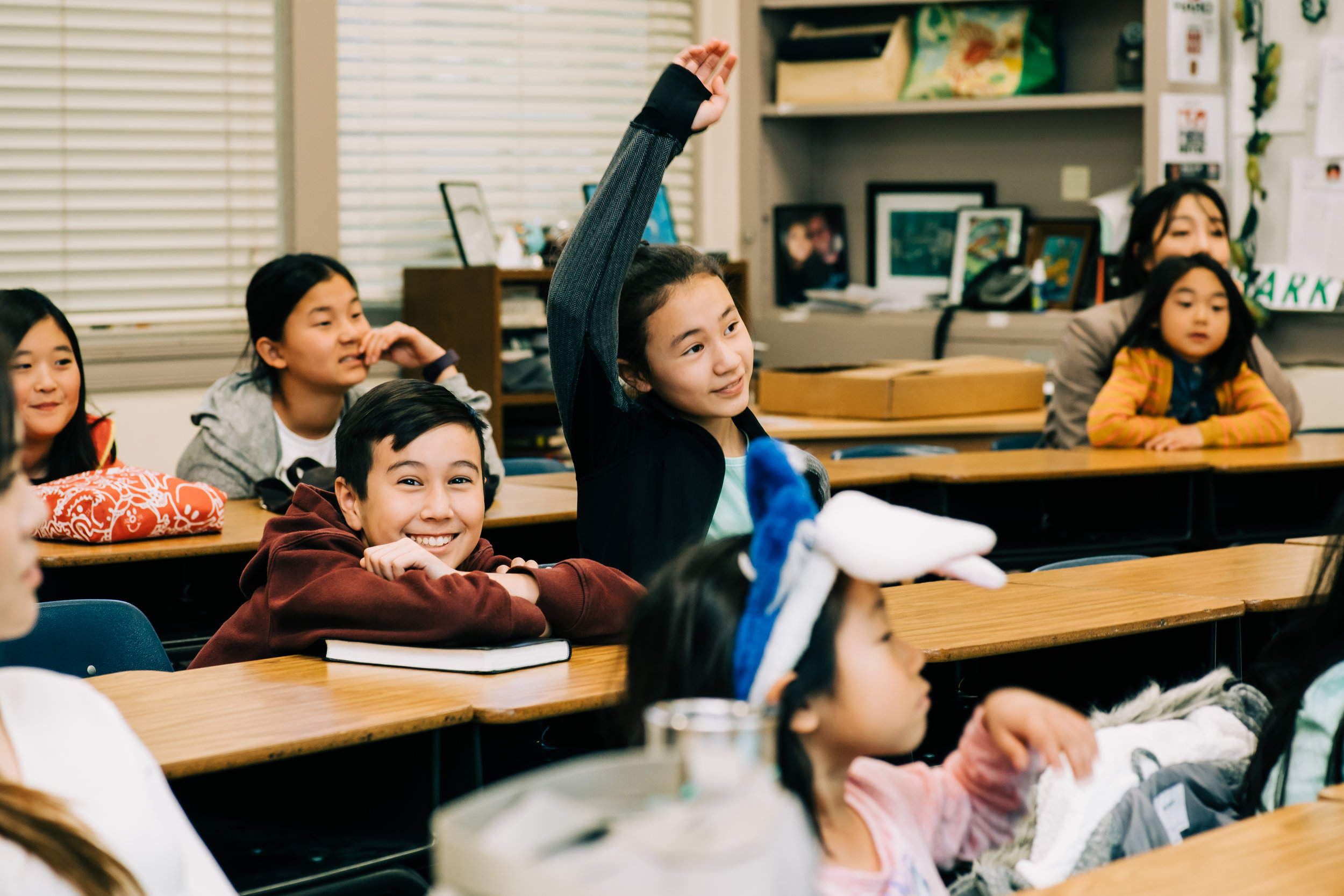 Upper elementary schoolers will go beyond Bible stories into actual biblical concepts and principles that shape their faith. Our teachers will help guide third, fourth, and fifth graders to apply the things they learn into their everyday lives.
