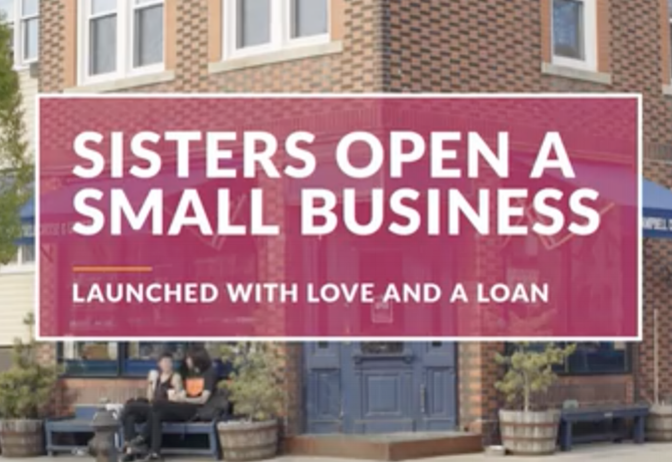 Sisters Launch a Small Business with Love--   and a Loan   Campbell Cheese is featured in a Discover Personal Loans ad about what it takes to run a small business.