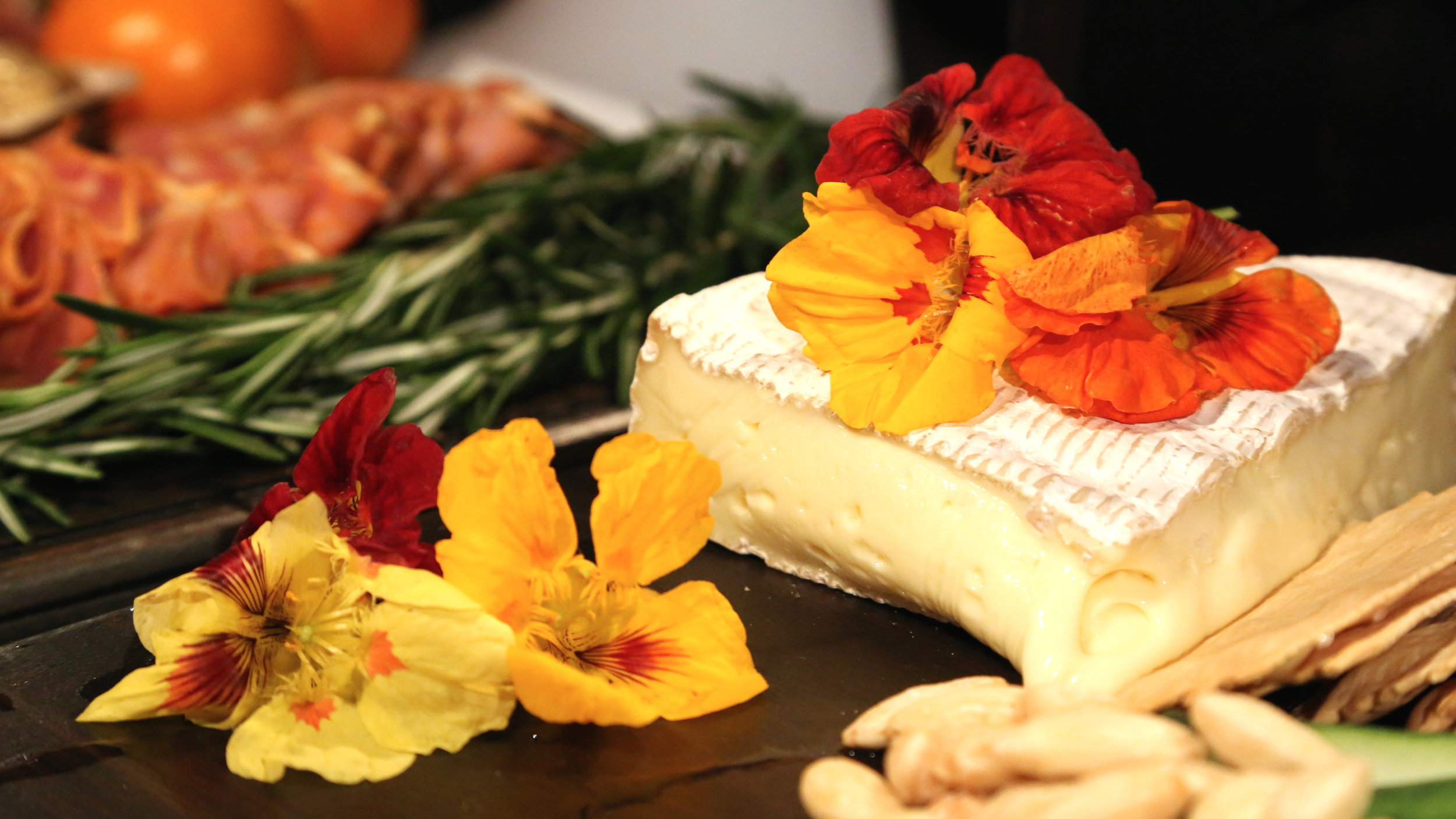 6- Grazing Wedding- Taste Talks Brie&FlowersCU.JPG
