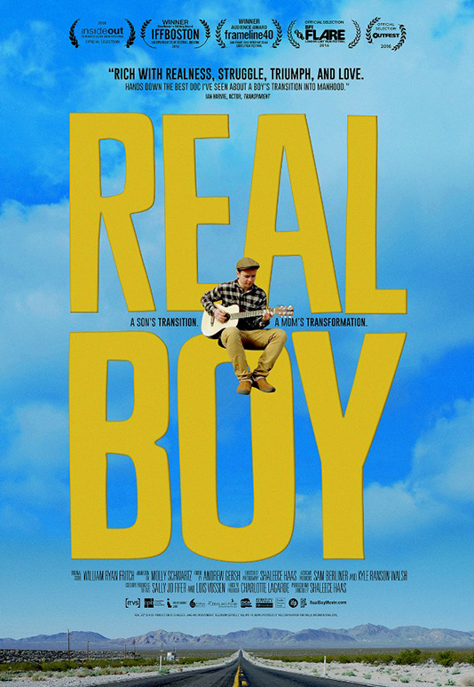 REAL BOY  Feature Documentary Director: Shaleece Haas Consulting Producer: Marc Smolowitz  Website
