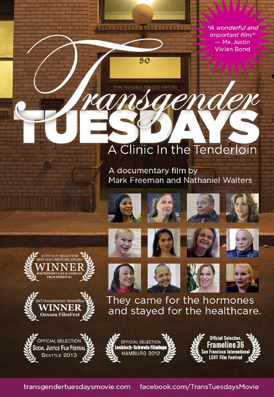 TRANSGENDER TUESDAYS  Feature Documentary Director: Mark Freeman Consulting Producer: Marc Smolowitz  Website