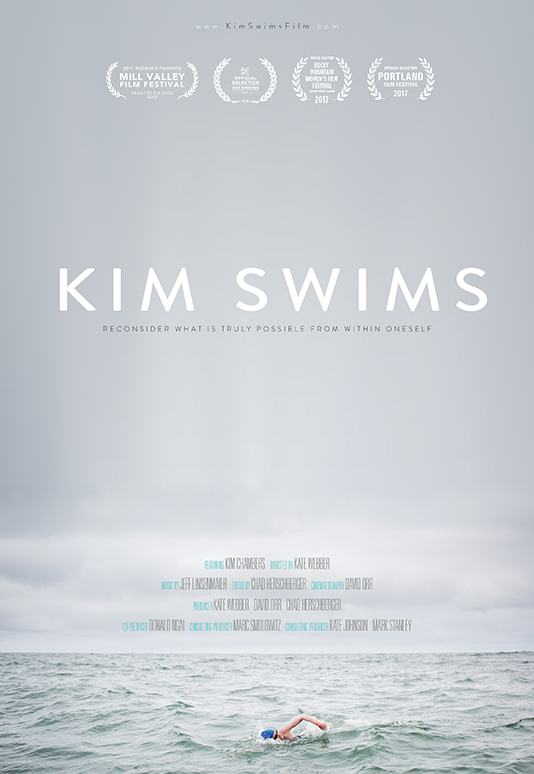 KIM SWIMS  Feature Documentary Director: Kate Webber Consulting Producer: Marc Smolowitz  Website