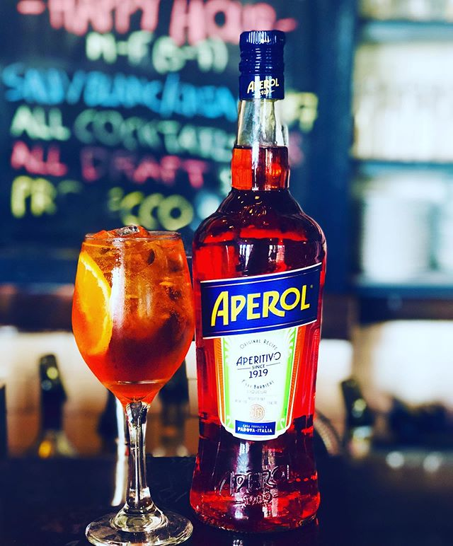 #aperolspritz #allday #ourheritage #ourproduct #perfectdrink @aperolspritzofficial @aperolusa