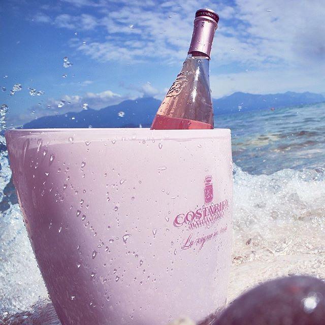 From Italy ➡️ to BK @costaripa best rosé #rosamara 🌸 #summer2019
