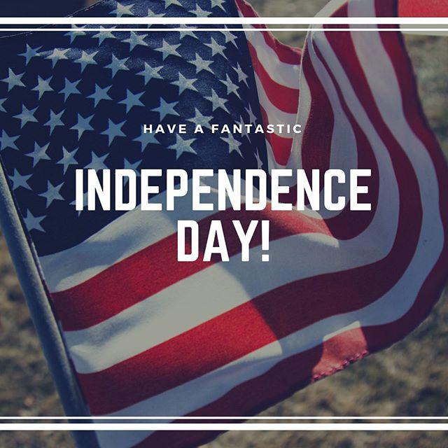 Happy #independenceDay folks! #🇺🇸