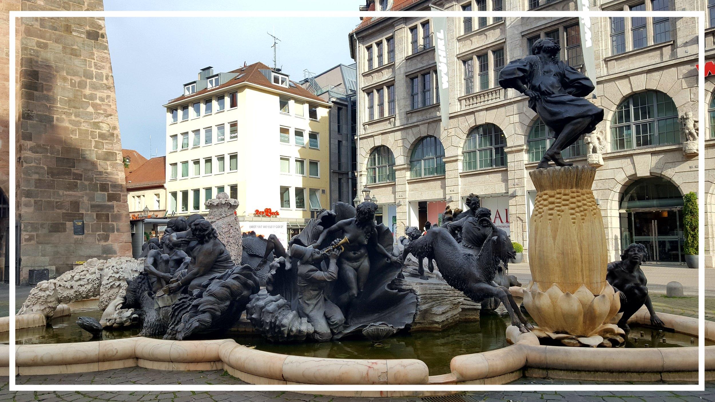 Nuremberg ehekarussell fountain