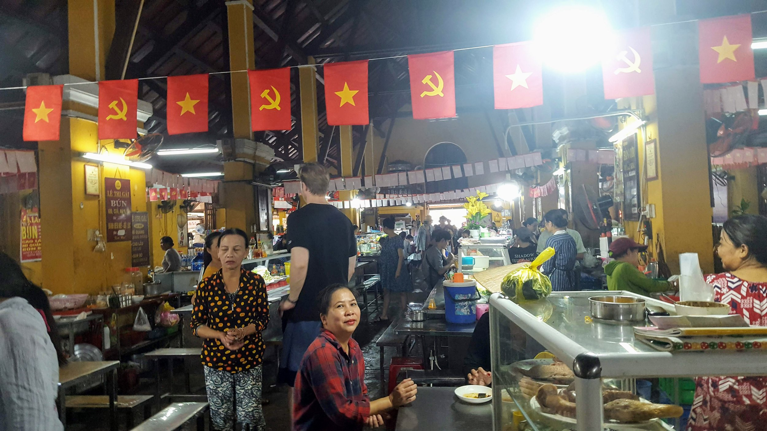 Hoi An food hall