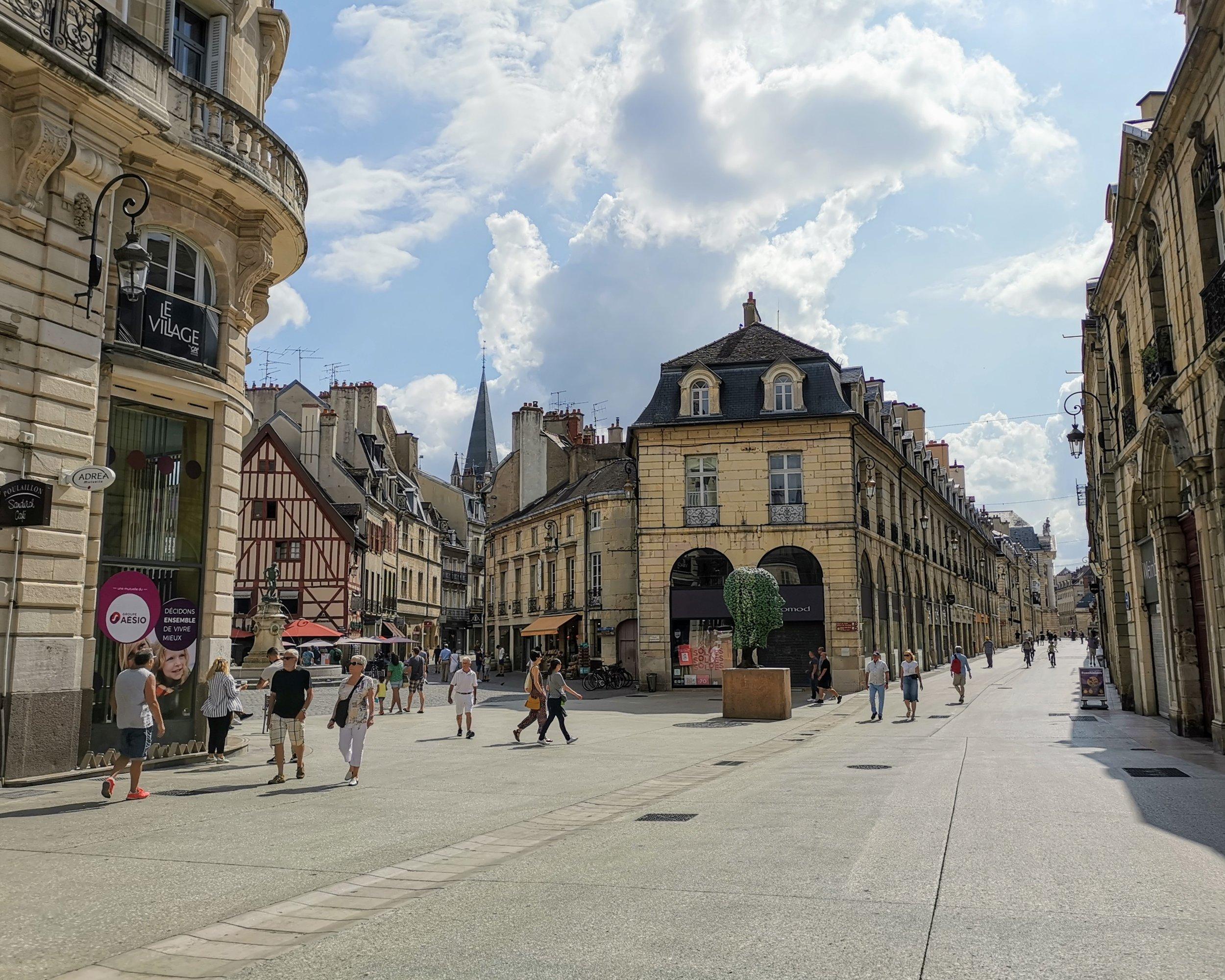Dijon streets