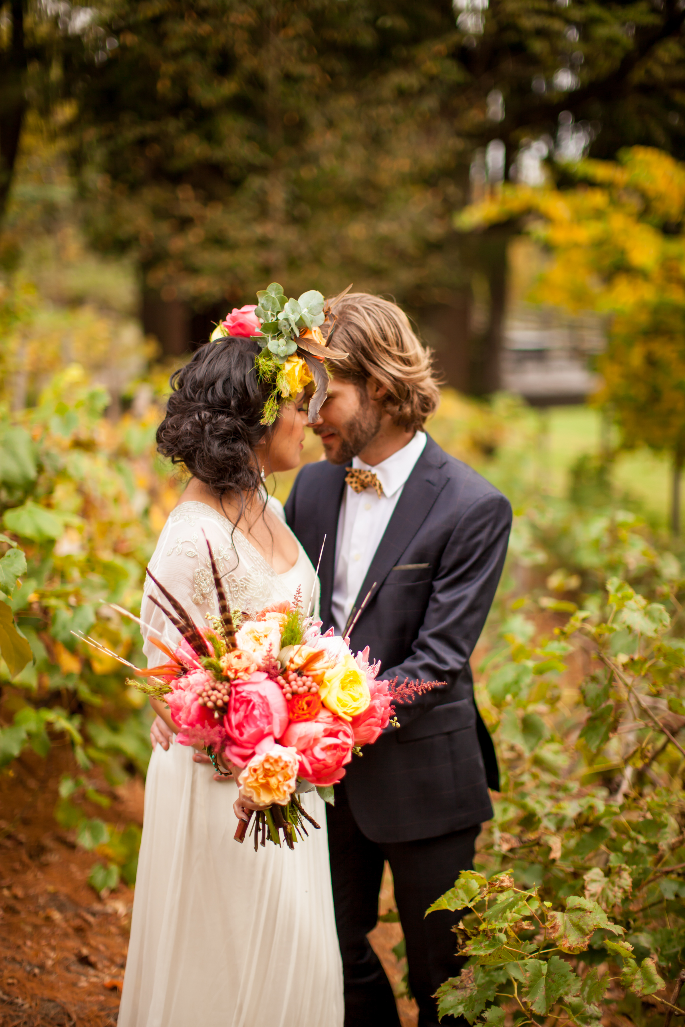 Southwestern inspired wedding