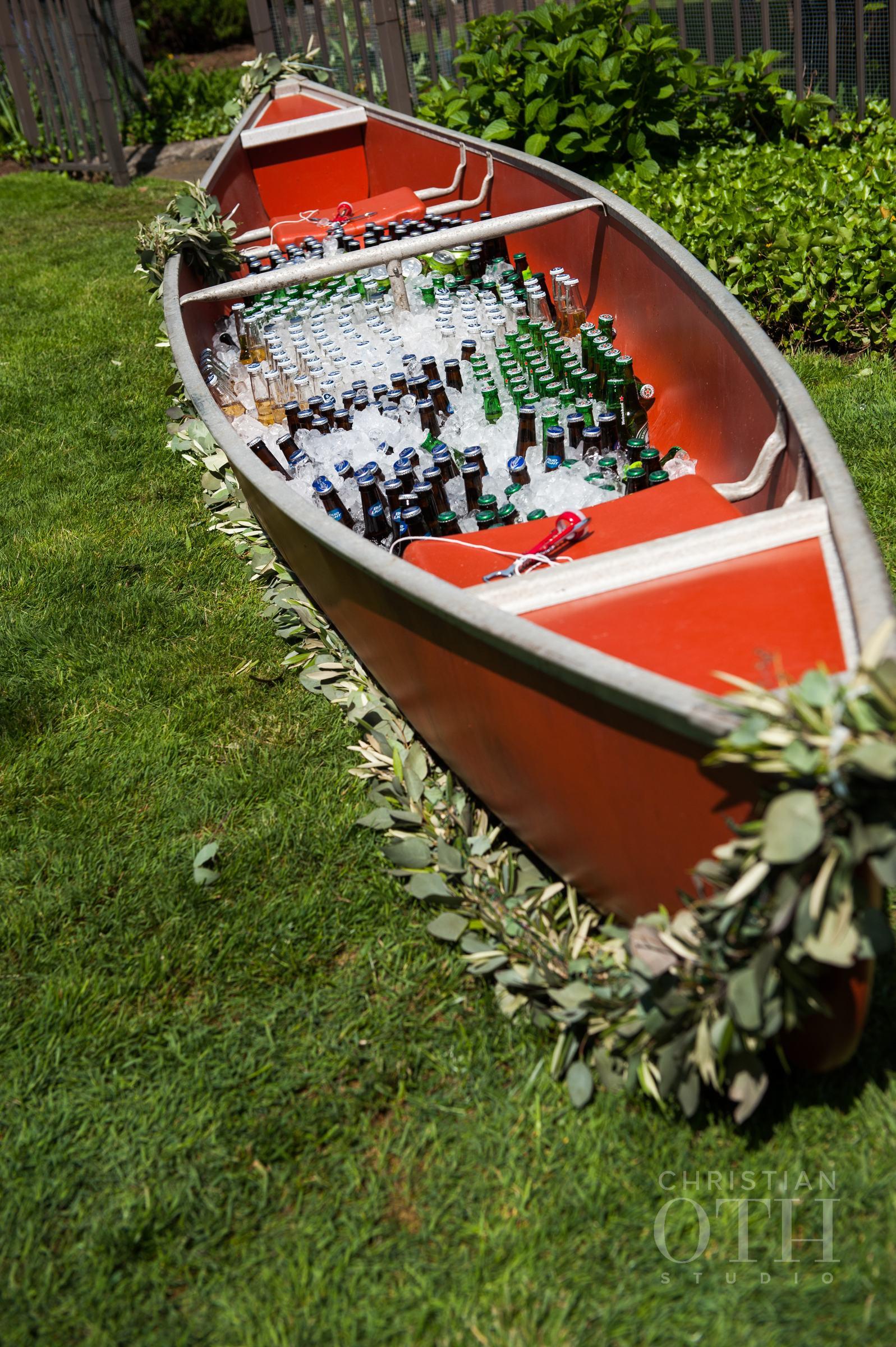 Rowboat cooler