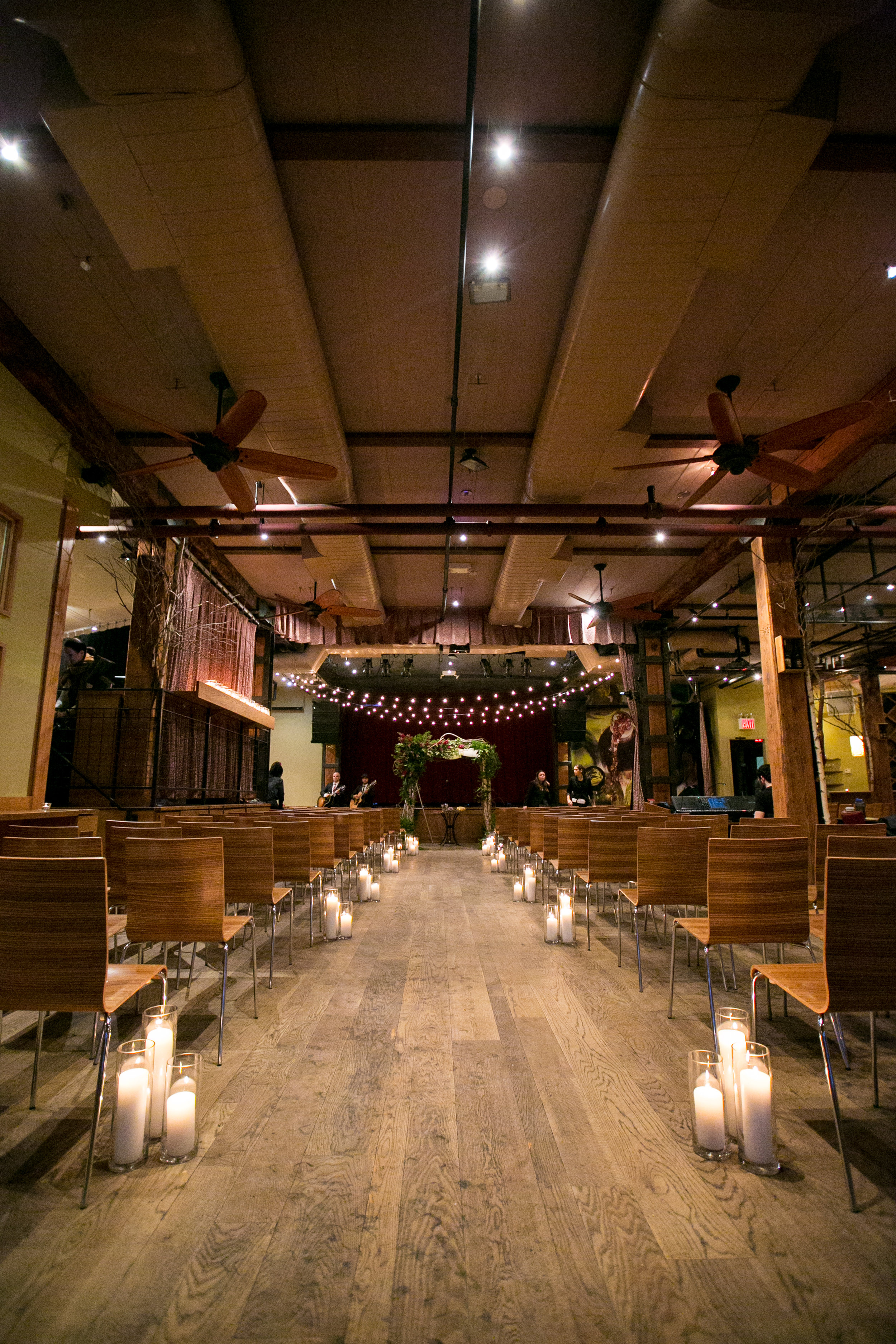 City Winery NYC wedding ceremony