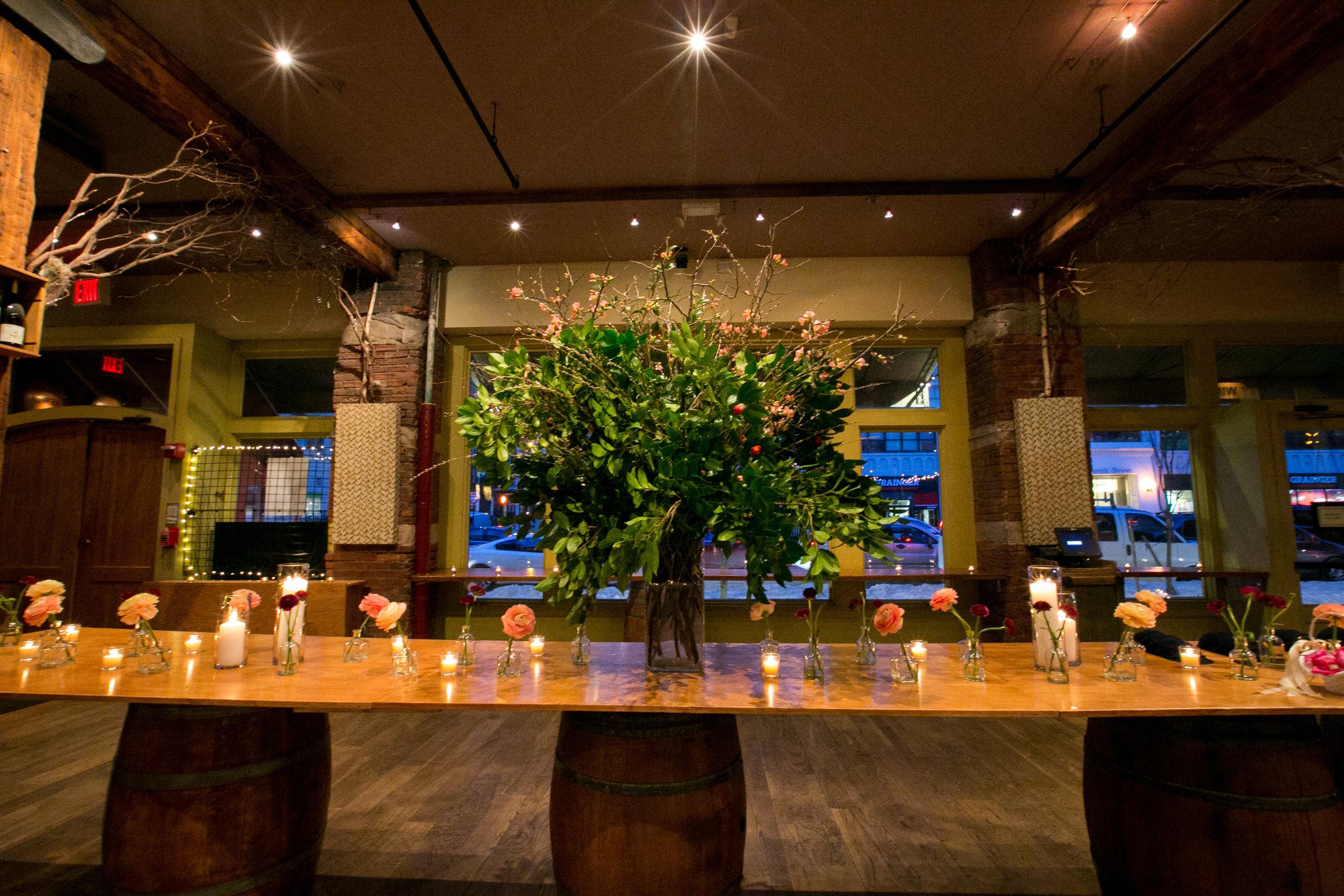 City Winery NYC reception