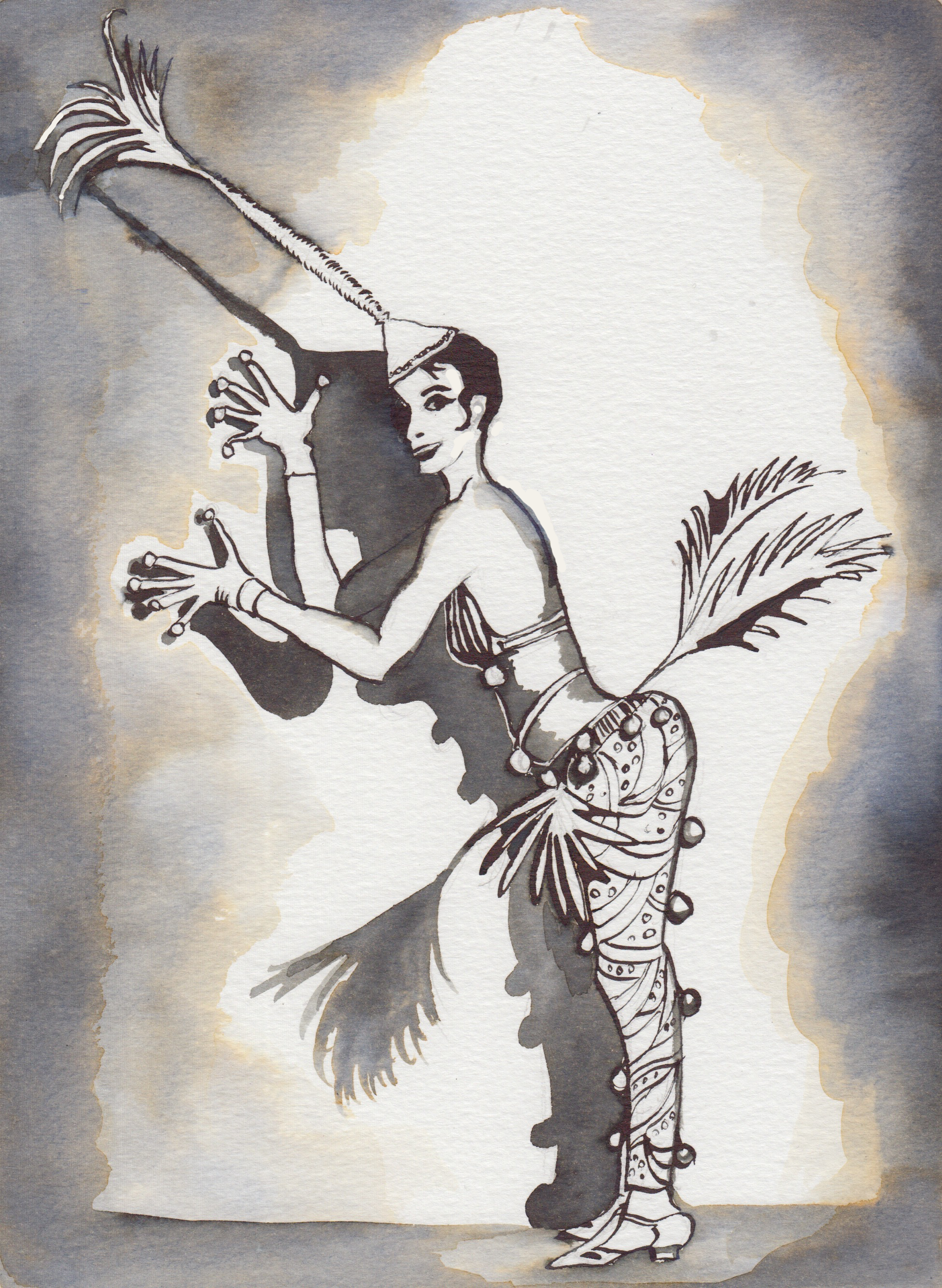 Spirit of the Jazz Age illustration by Clare O'Connell