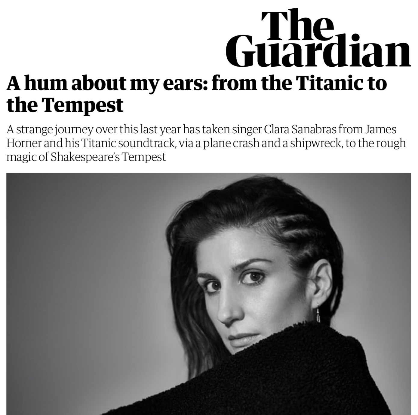 article written by Clara about this programme in the Guardian