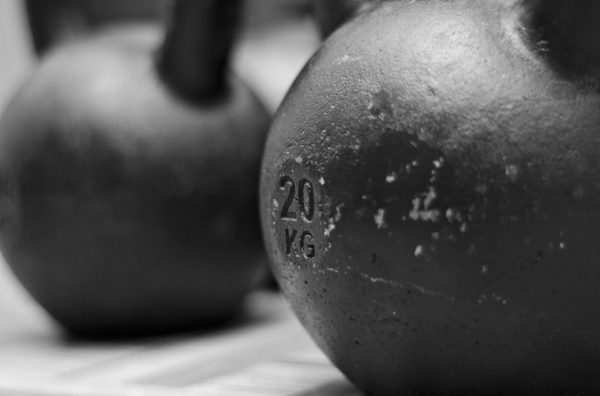 Kettlebell movements are also good additions in EMOM workouts.