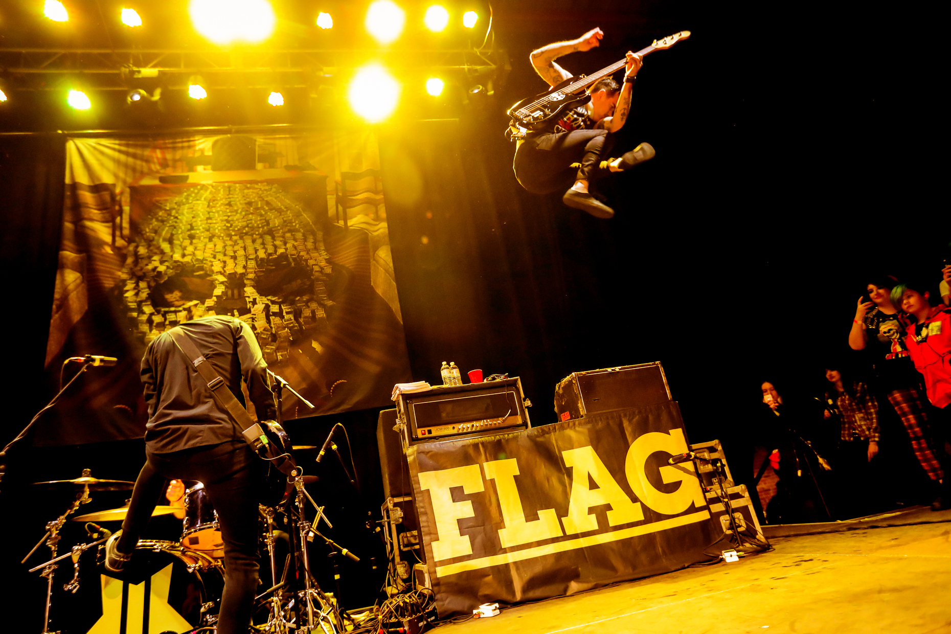 ANTI-FLAG + STRAY FROM THE PATH + OVER TIME
