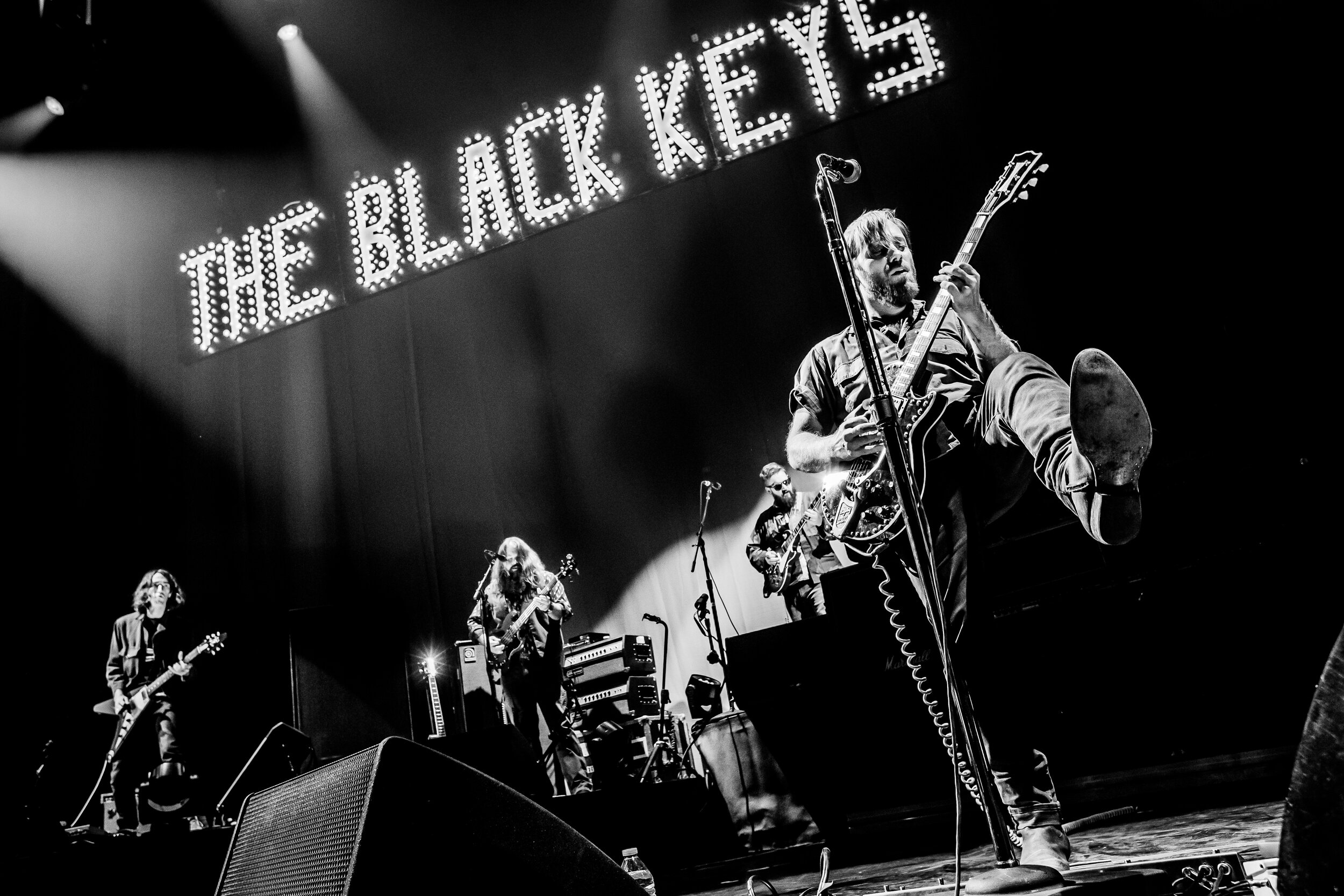 THE BLACK KEYS + MODEST MOUSE + REPEAT REPEAT