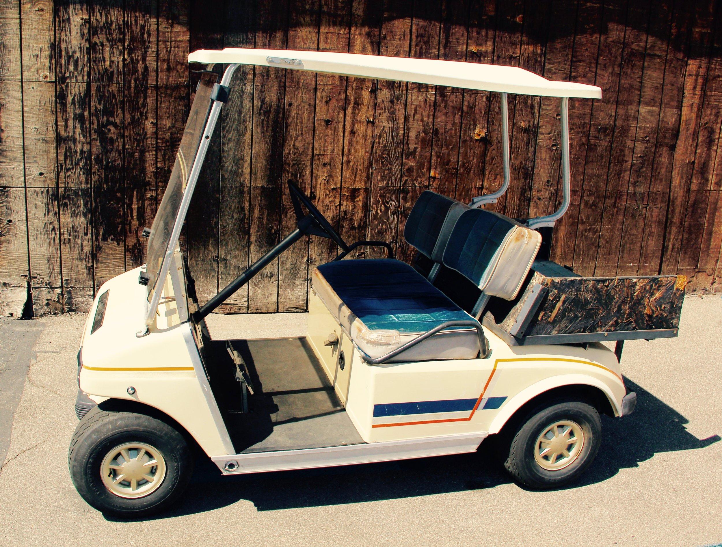 Cream Club Car DS