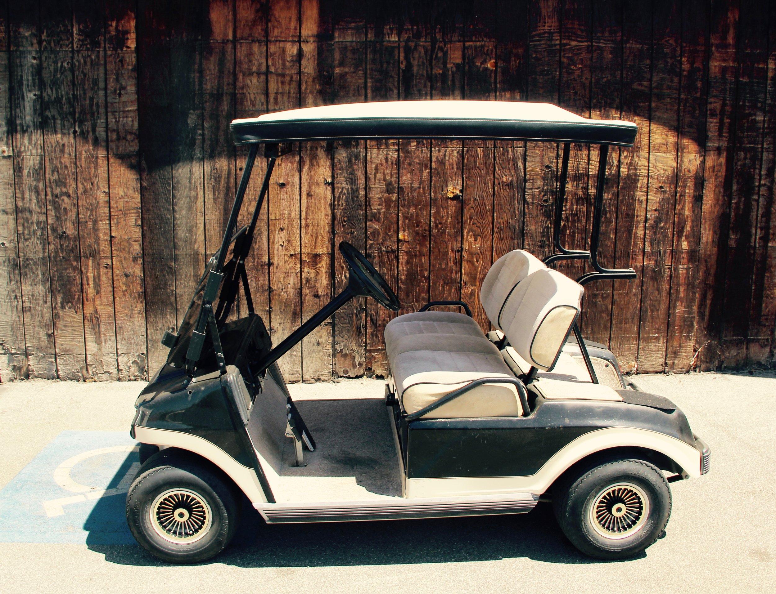 Black Club Car DS