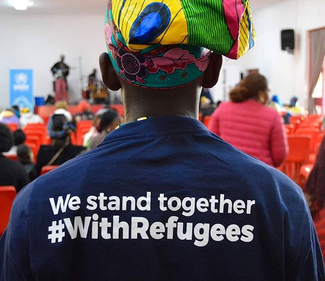 WE STAND TOGETHER WITH REFUGEES. ▪ ▪ ▪ Do you? ▪ ▪ ▪ #withrefugees #standwithrefugees #refugeesupport #refugees #ngoofcapetown #NGO #CapeTown #SouthAfrica #stepwithrefugees #welcomerefugees #loveforall