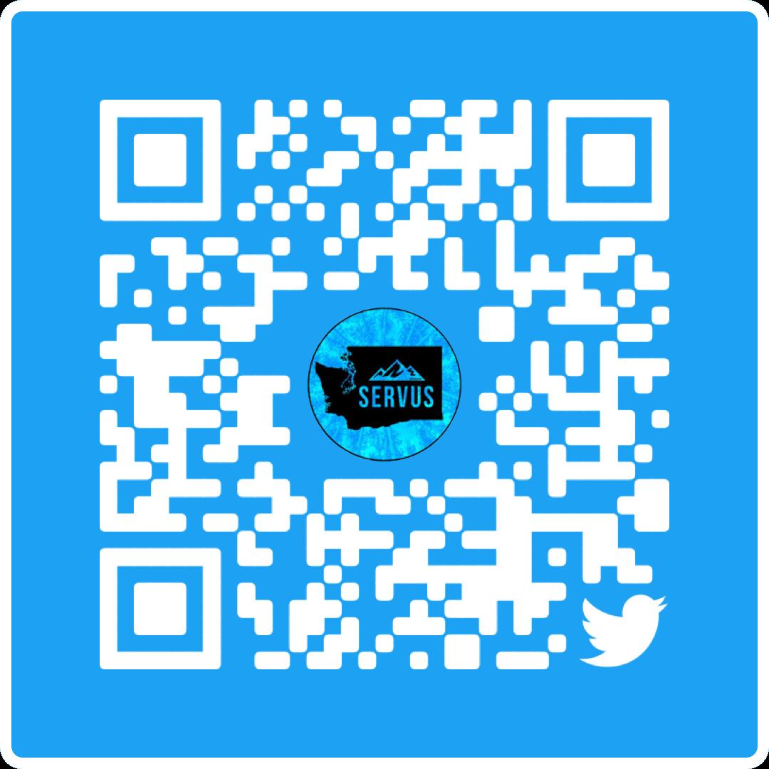 @SERVUSCON Twitter QR Code
