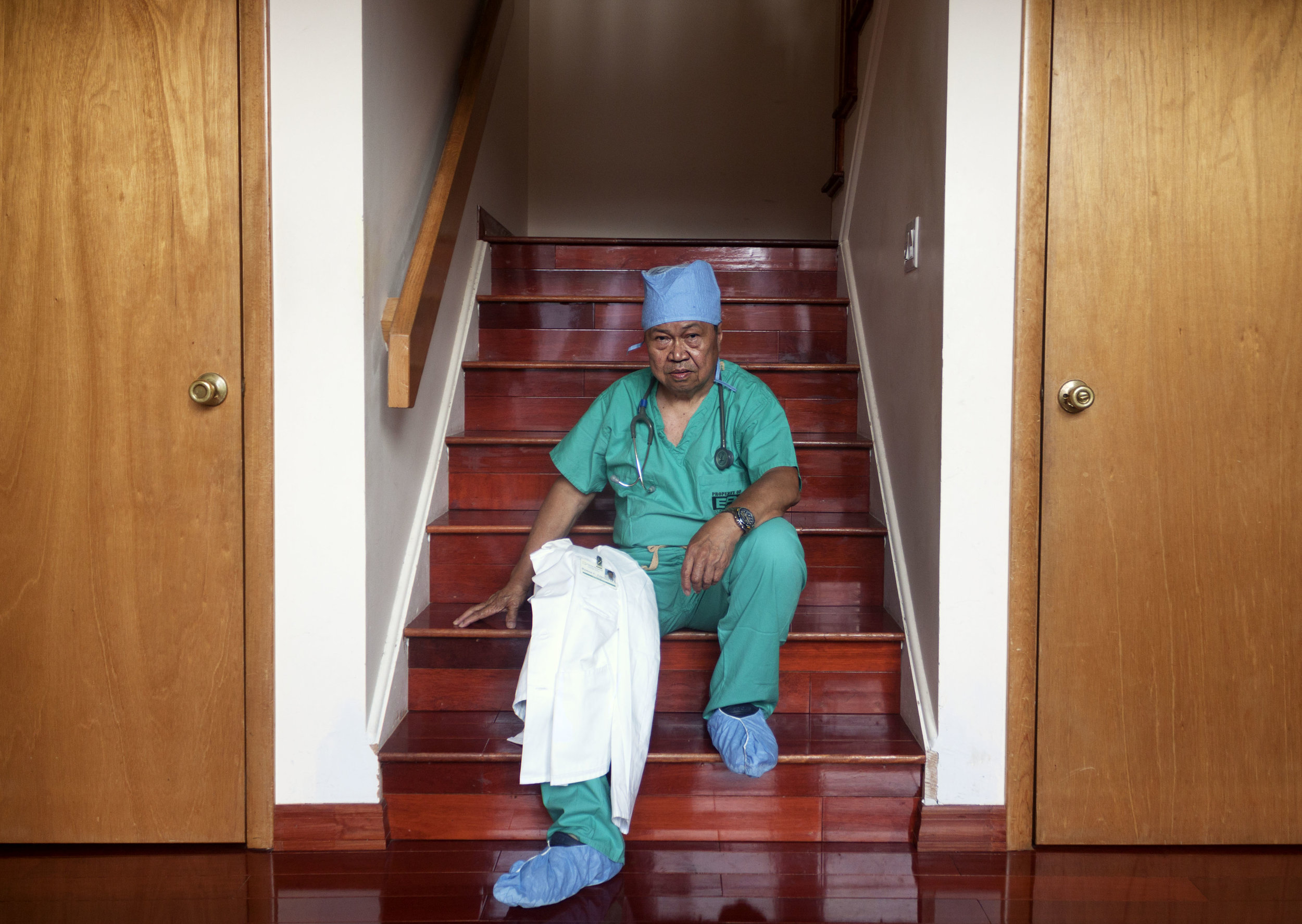 Doctor on Steps.jpg