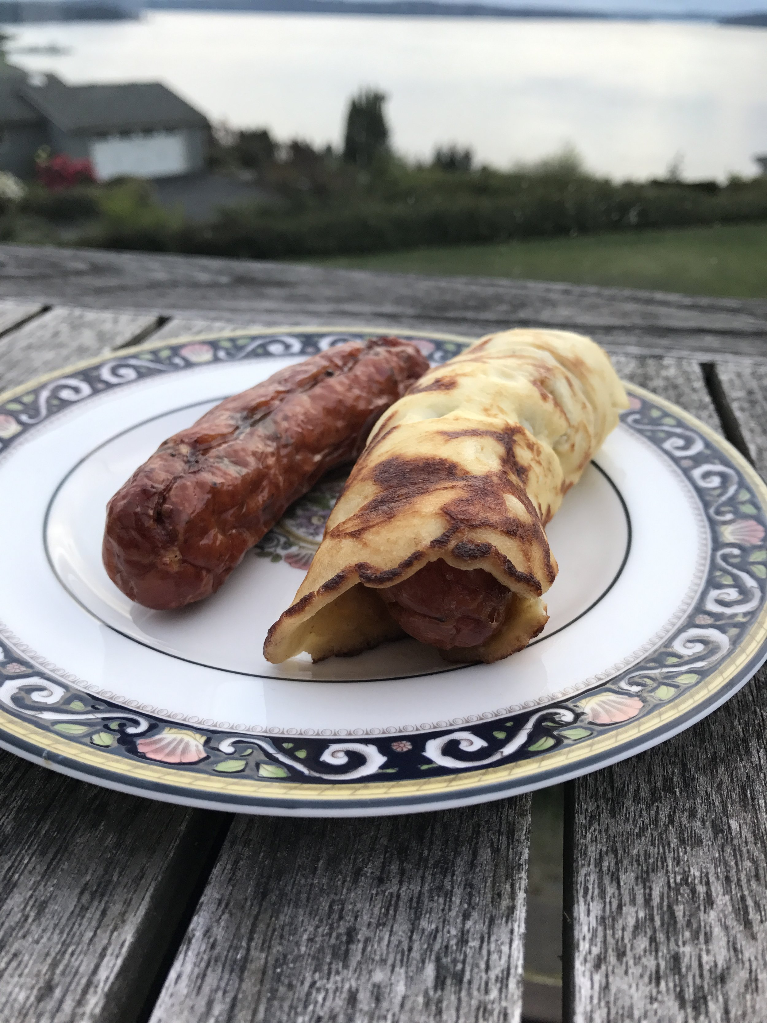 - These crepes are great alone, or can be used as a wrap for a hot dog or sausage.