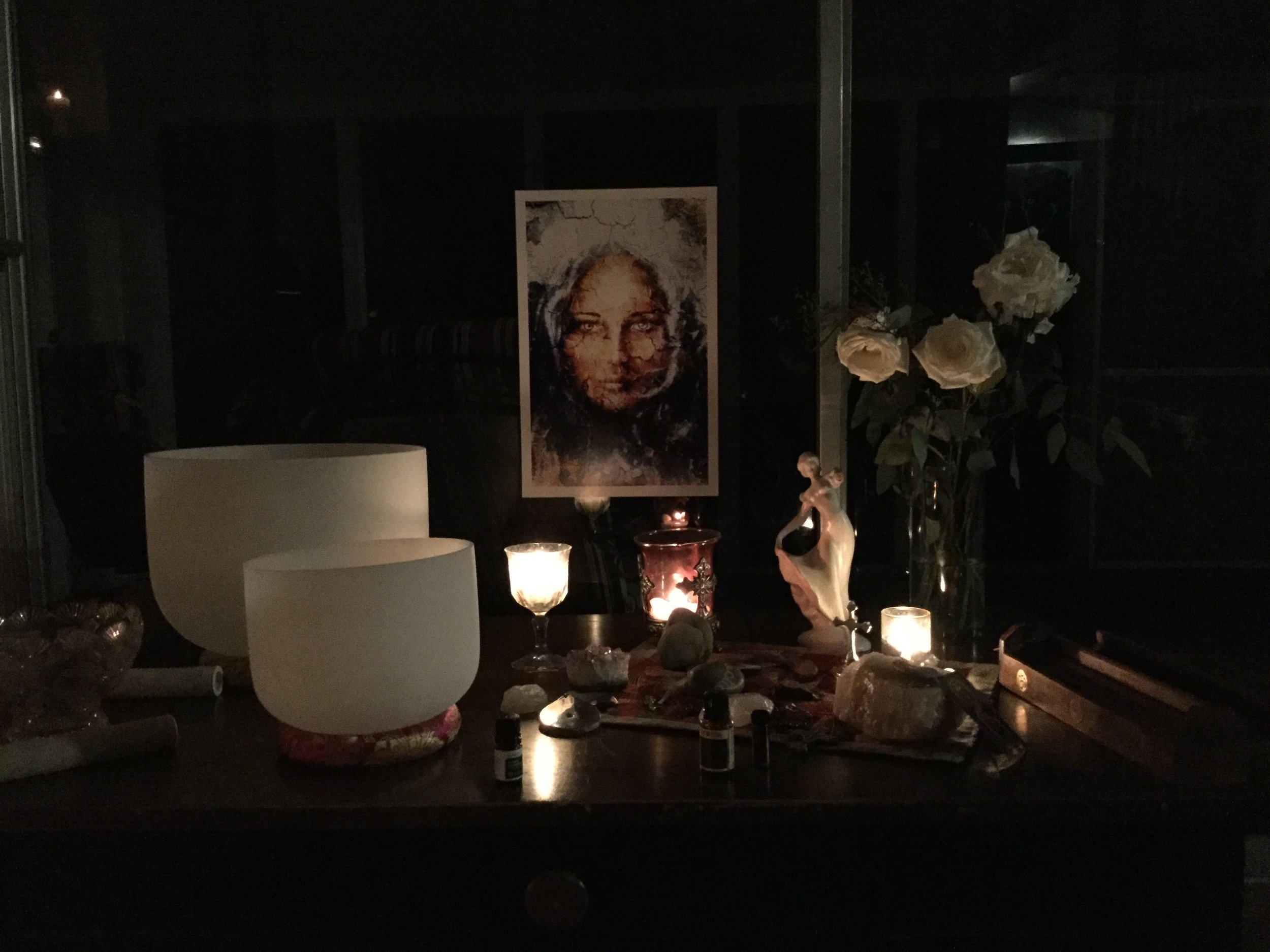 The Magdalene altar - 2018 Retreat