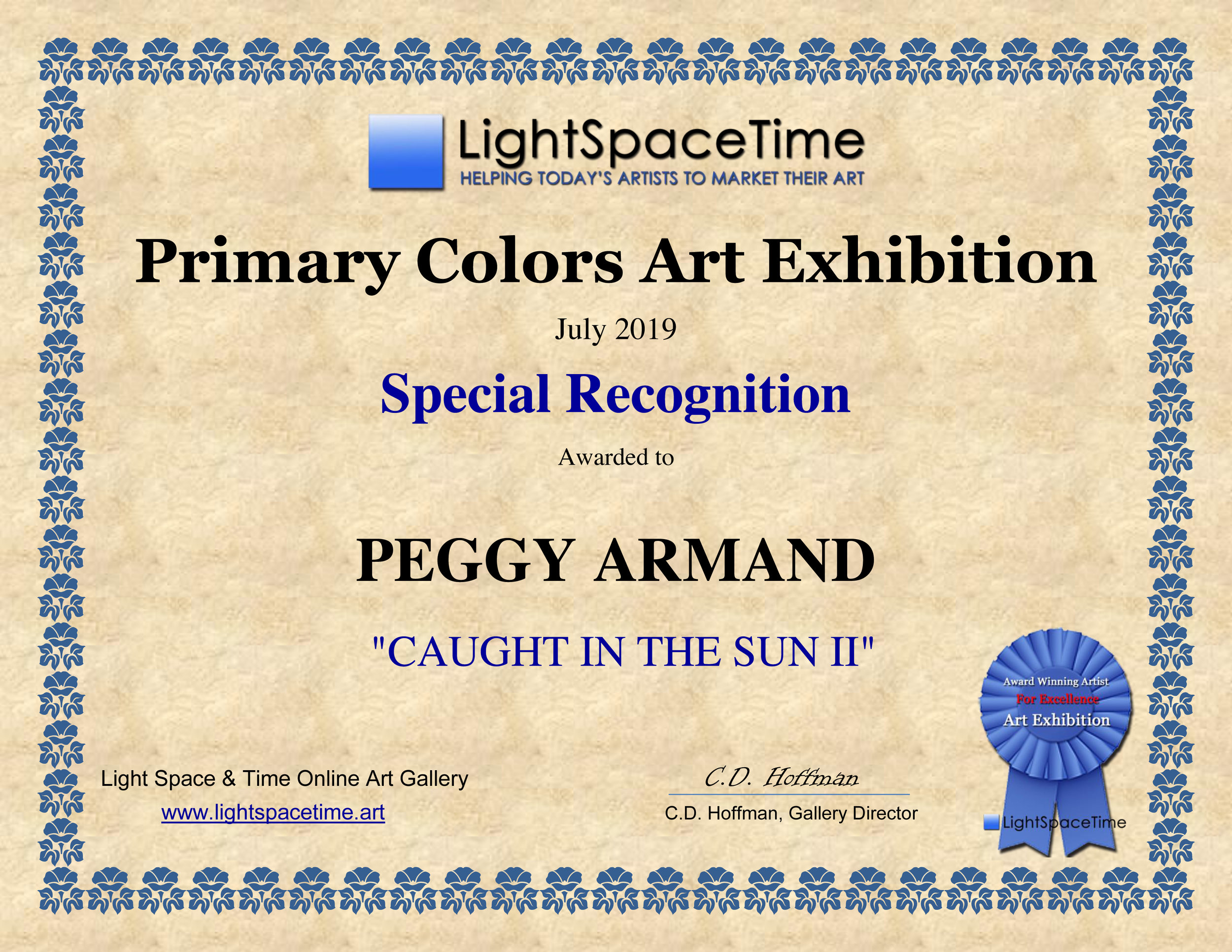 Special Recognition - PEGGY ARMAND - Primary Colors 2019.jpg