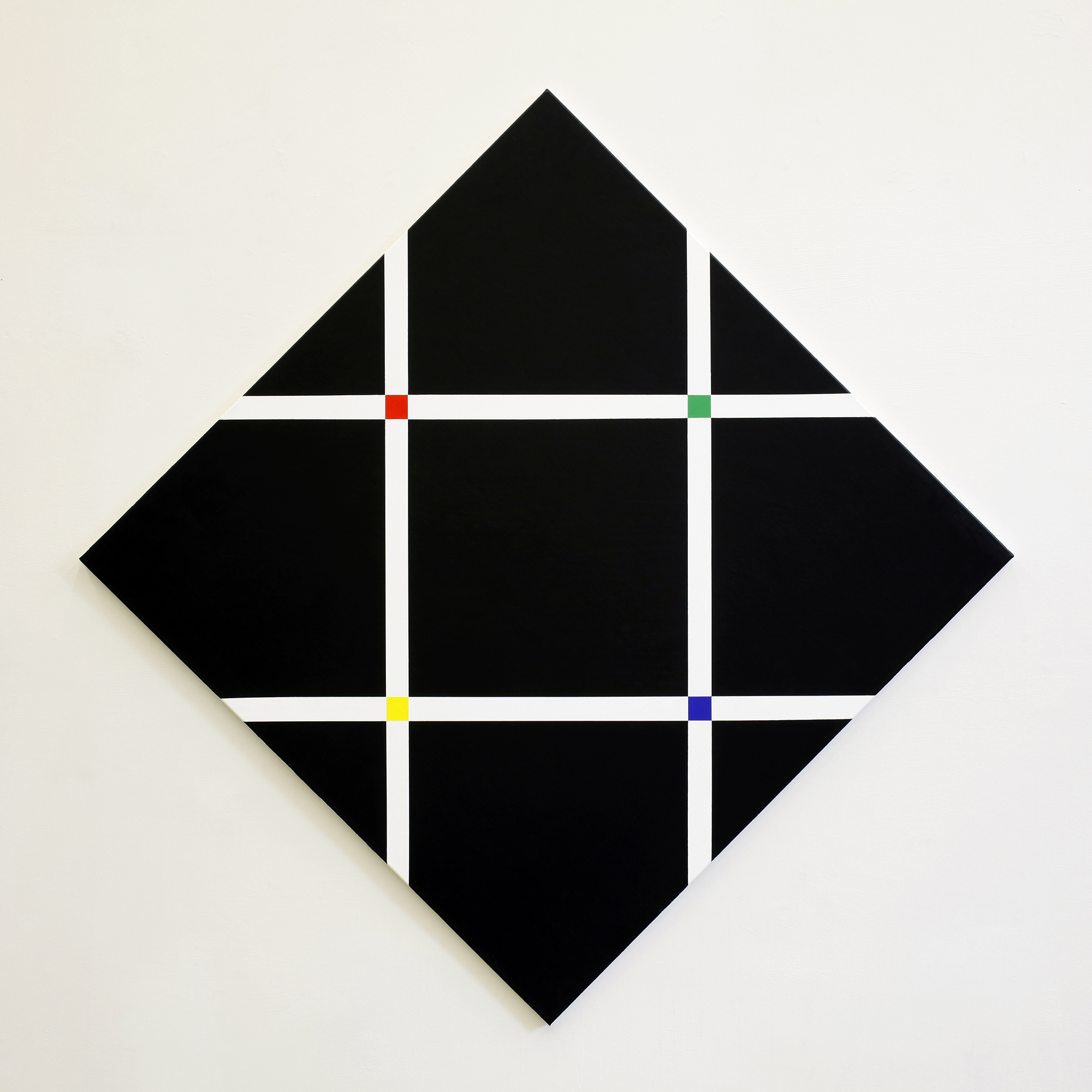 Untitled, 2010, acrylic on canvas, 155 x 155 cm