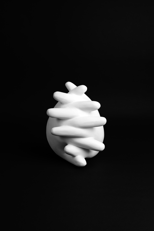 Pray, 2012, acrylic on modering, 12,8 x 12,5 x 15,8 cm