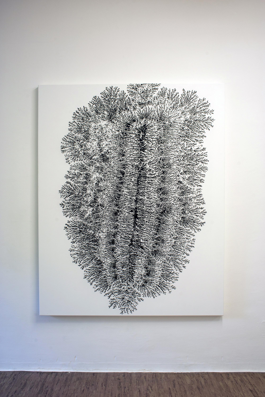 Dendrite, 2013, acrylic on canvas, 140 x 175 cm