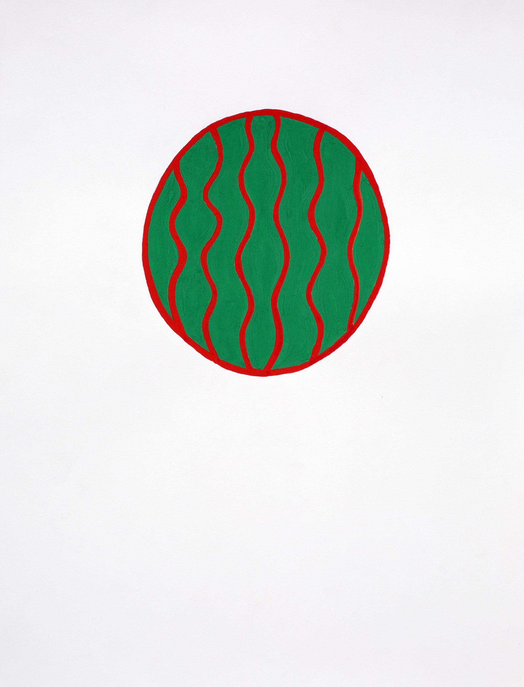 Untitled, 2015, gouache on paper, 30 x 42 cm