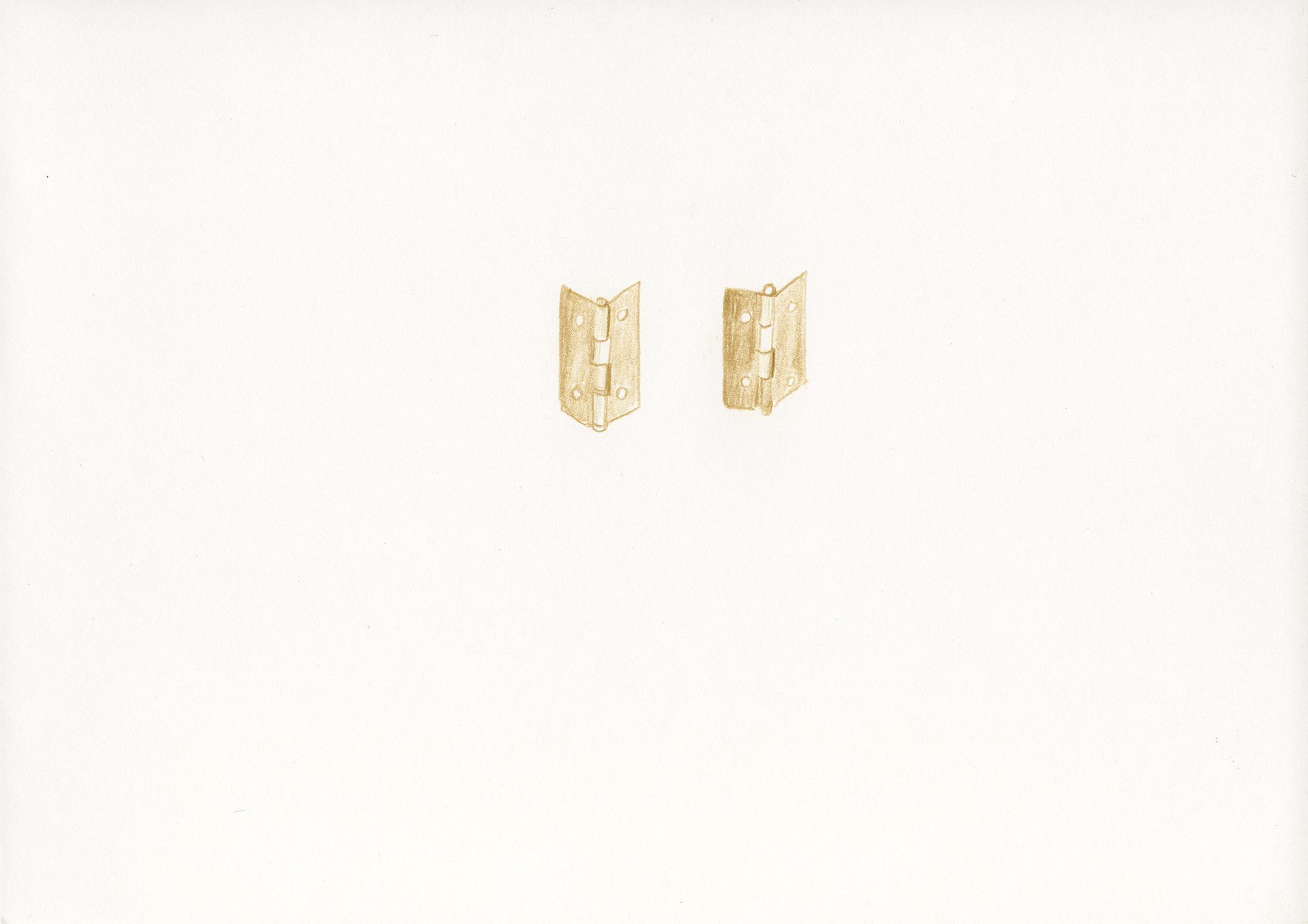 Untitled, 2013, color pencil on paper, 21 x 29,7 cm