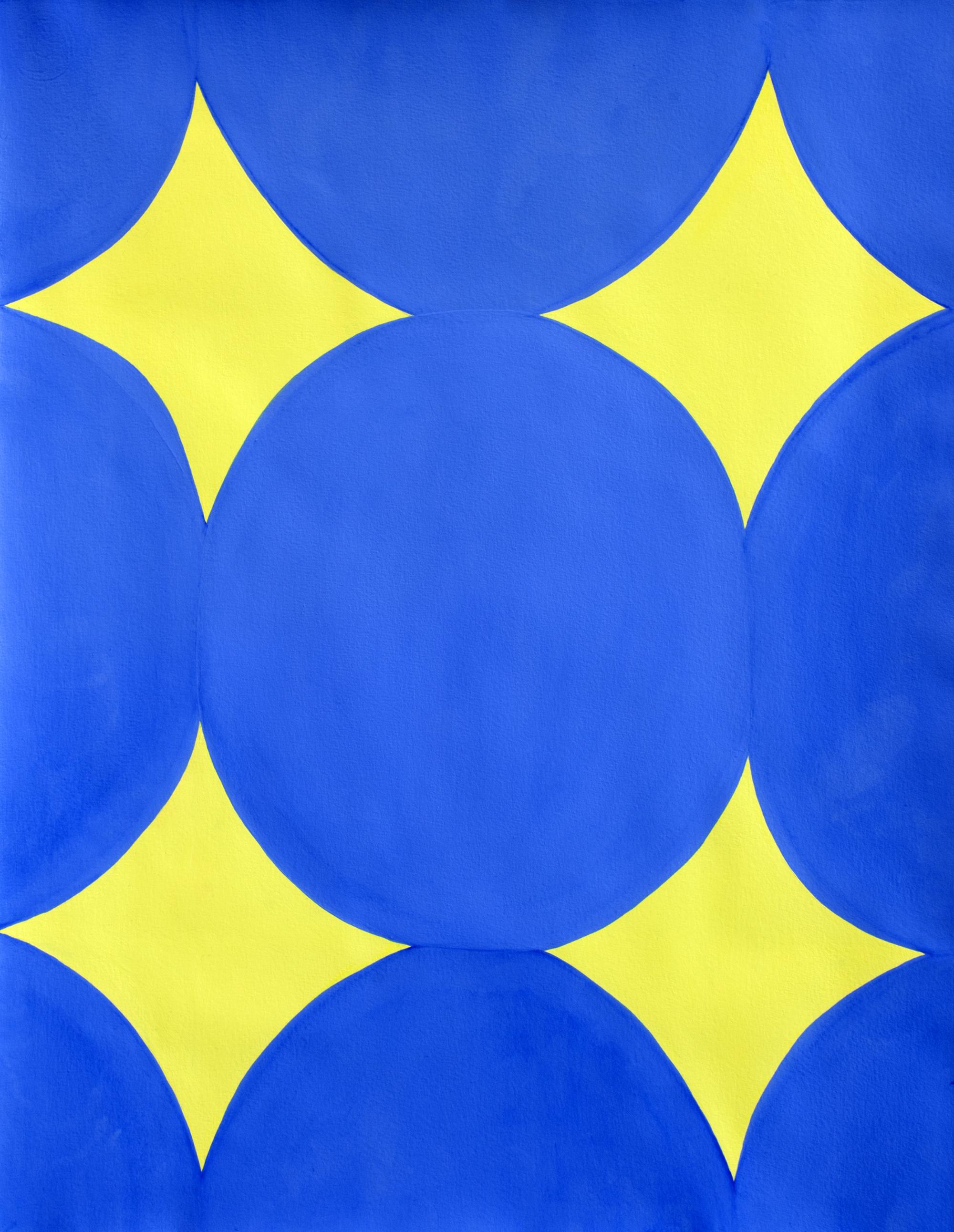 Untitled, 2011, gouache on paper, 31 x 43 cm