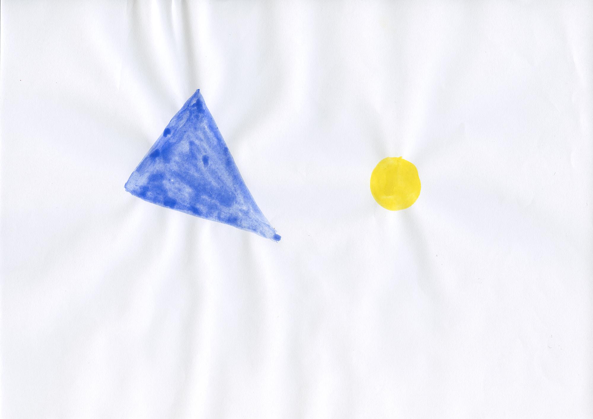 Untitled, 2006, gouache on paper, 21 x 29,7 cm
