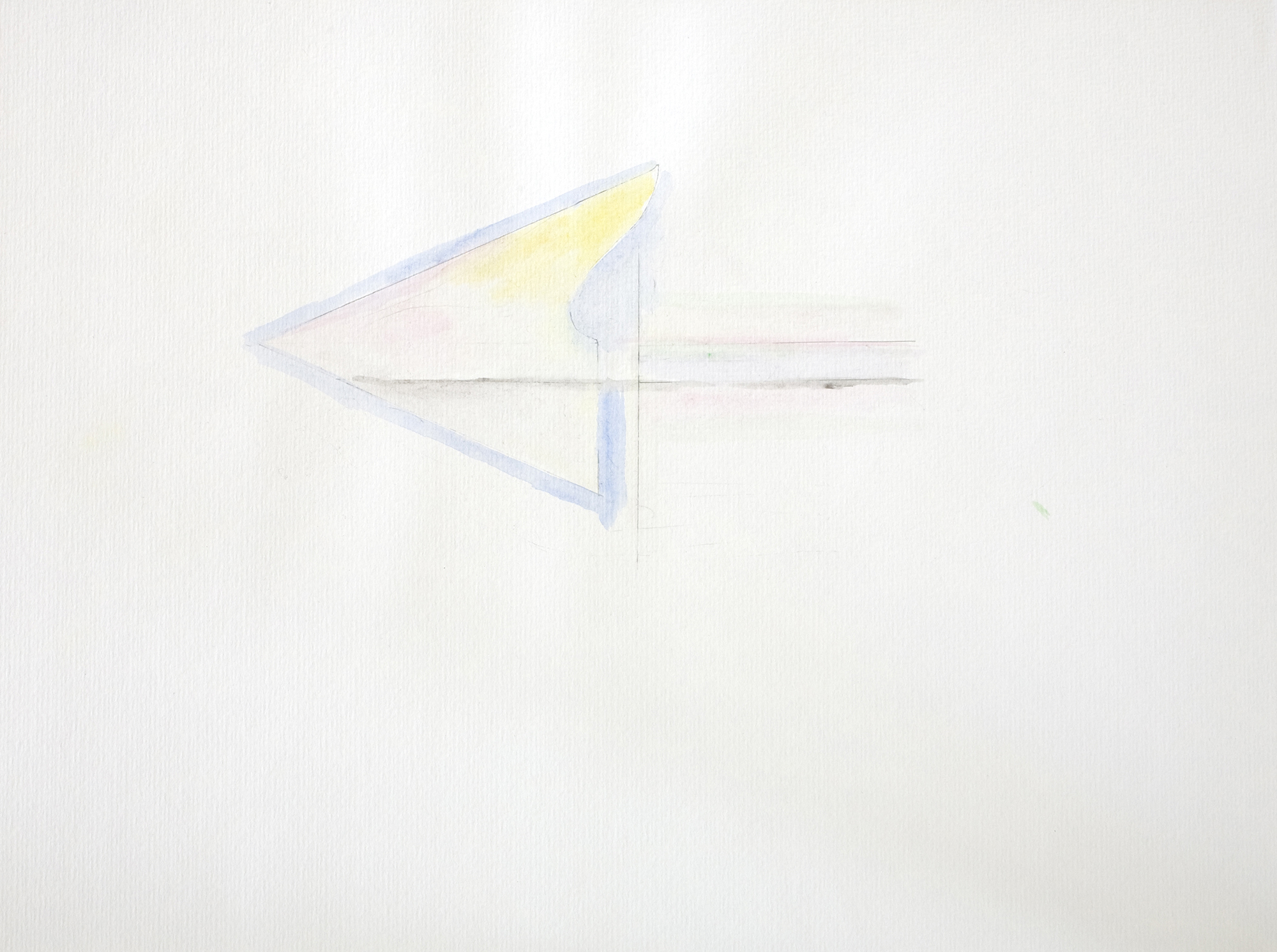 Untitled, 2006, color pencil on paper, 30 x 42 cm