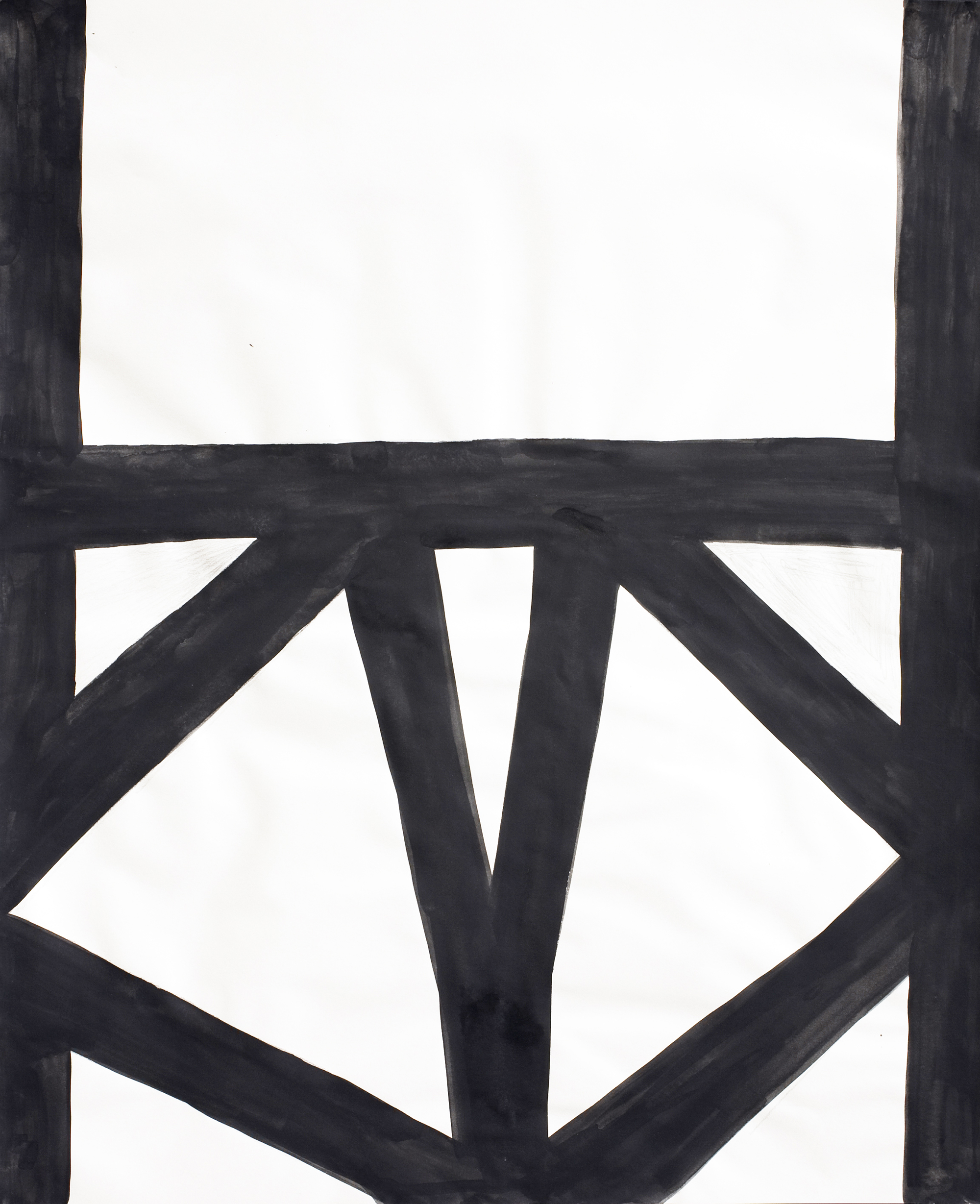 Untitled, 2008, gouache on paper