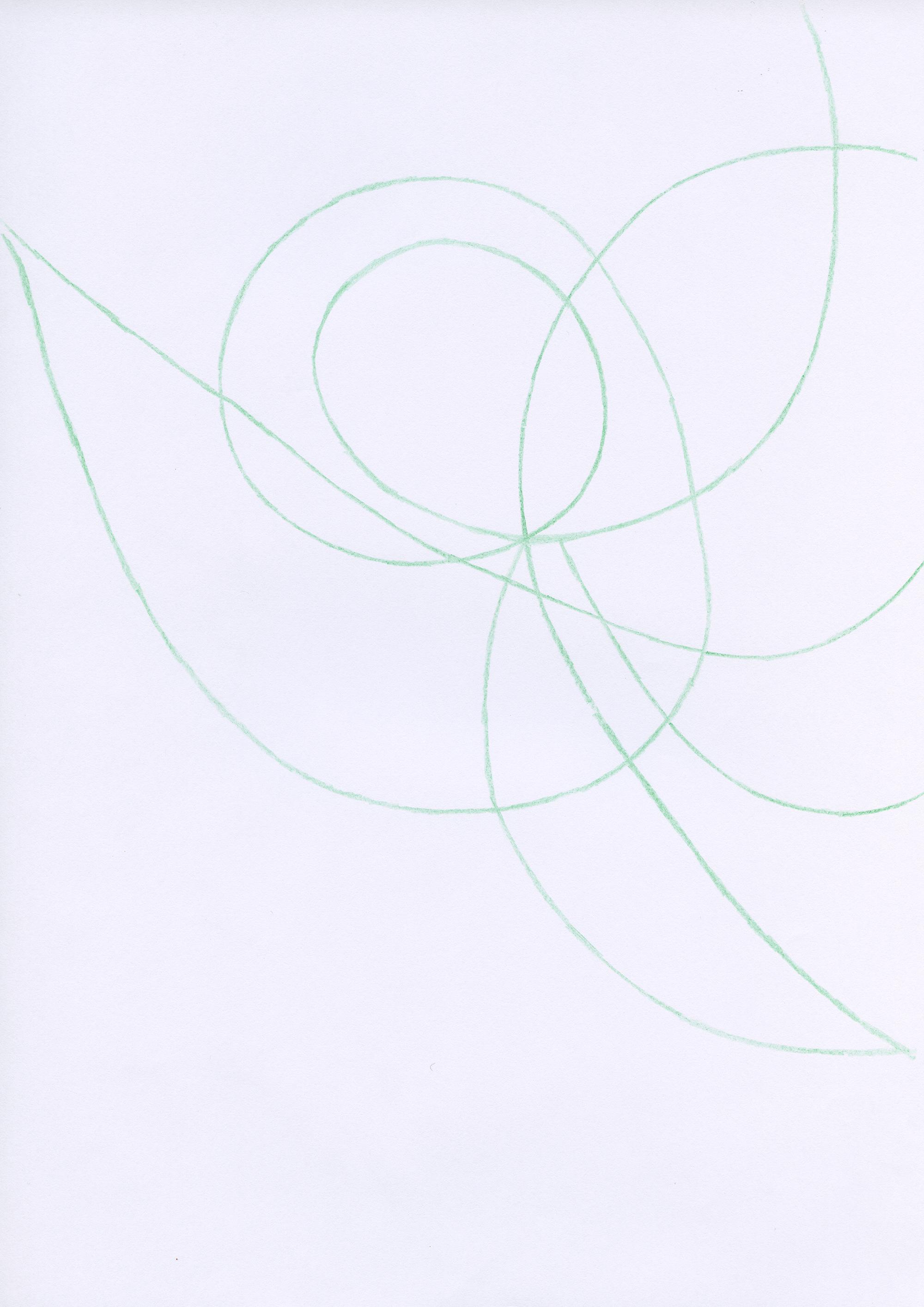 Untitled, 2007, color pencil on paper, 21 x 29,7 cm