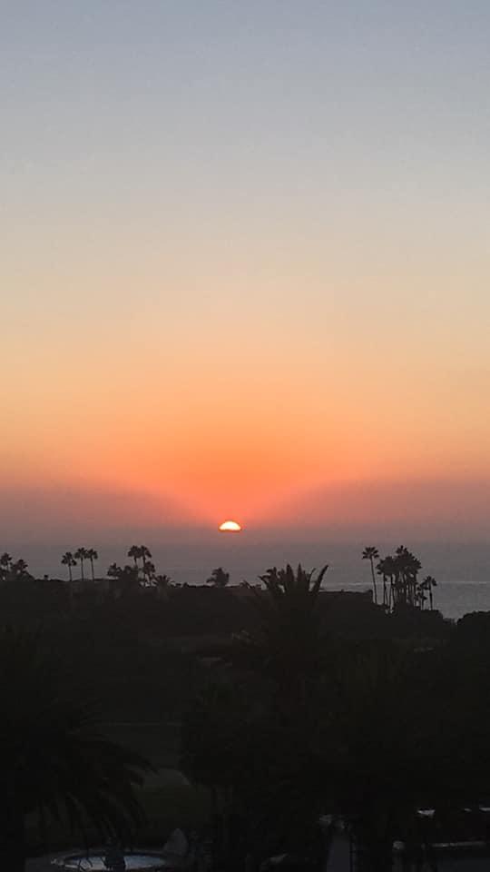 last sunset in cali.