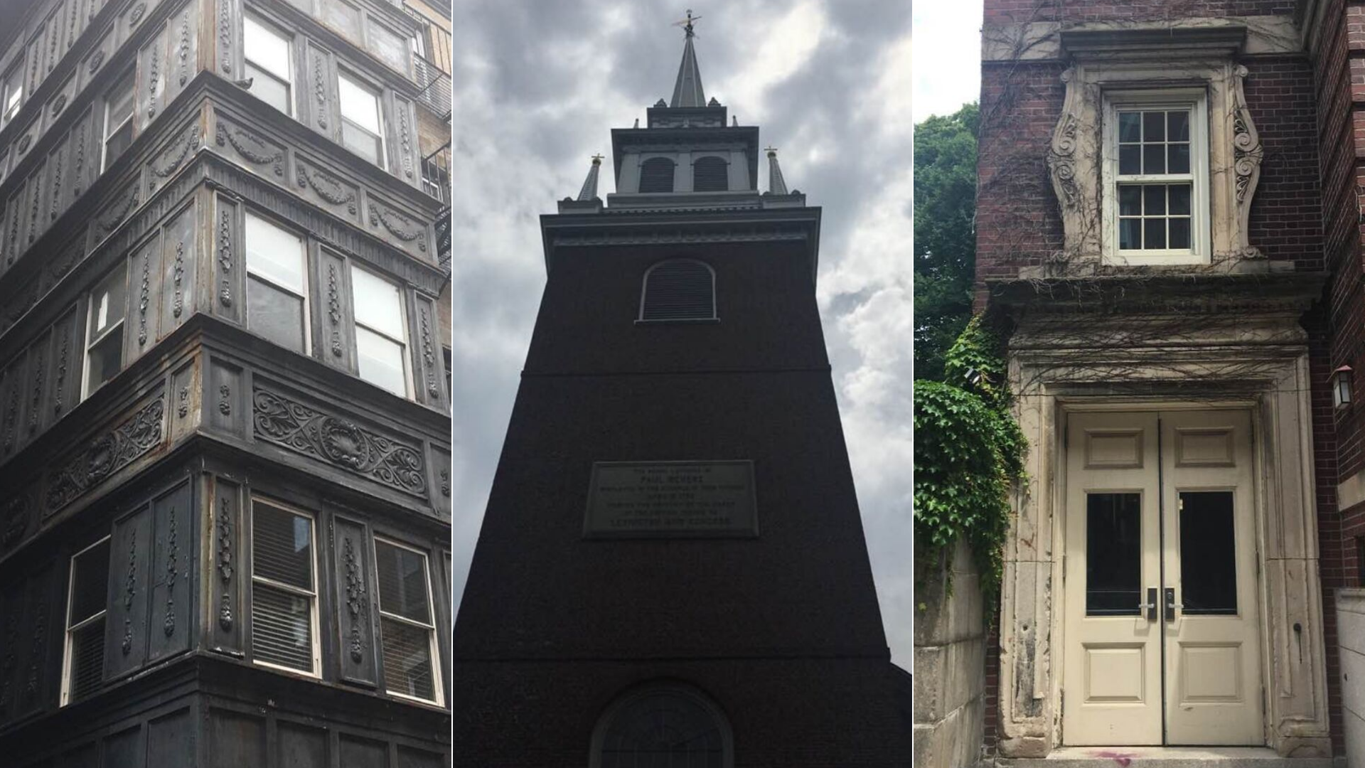 History and architecture (above) mixed with art and fun (below) is what Boston is all about.