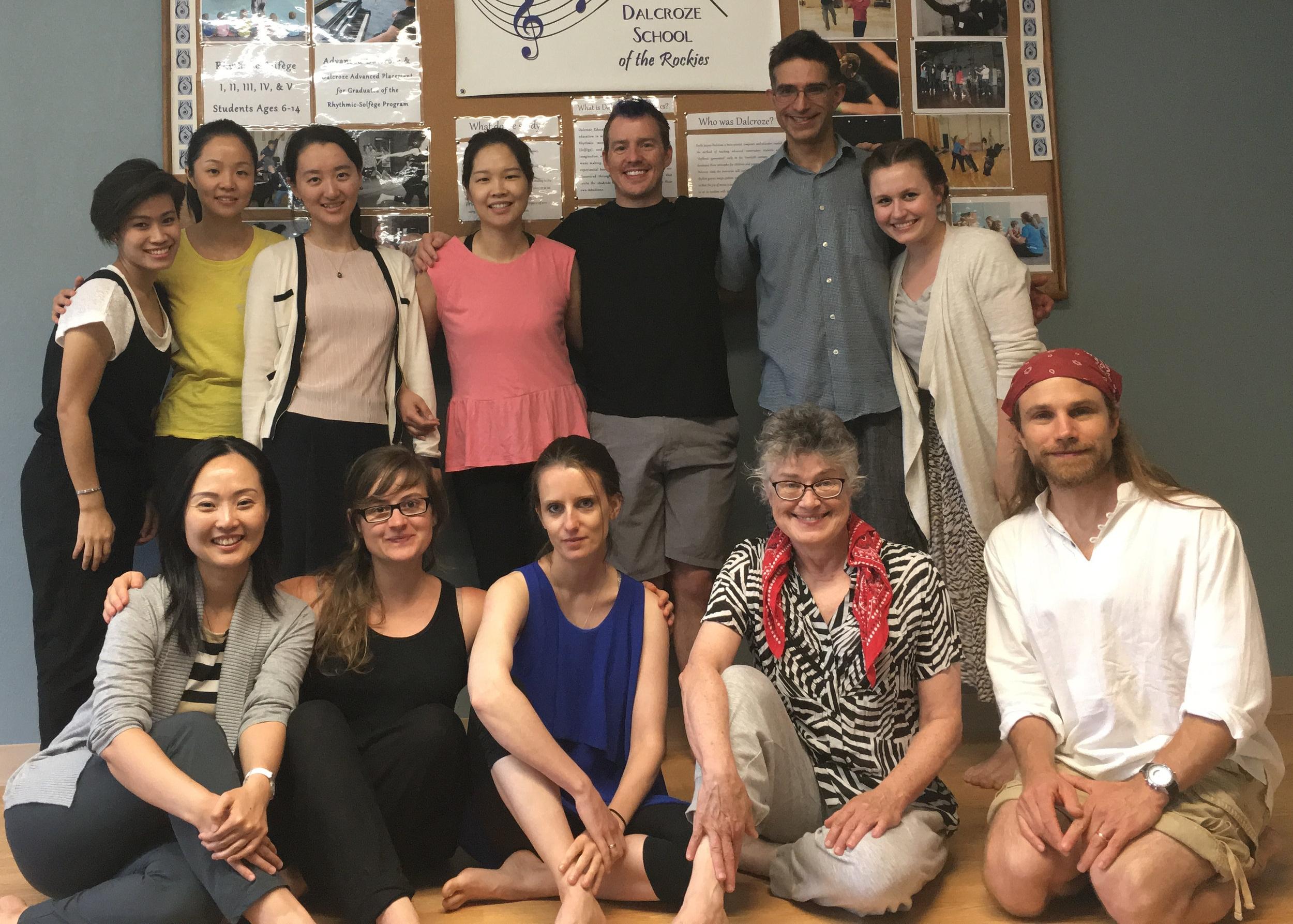 Eurhythmics Classes in Denver