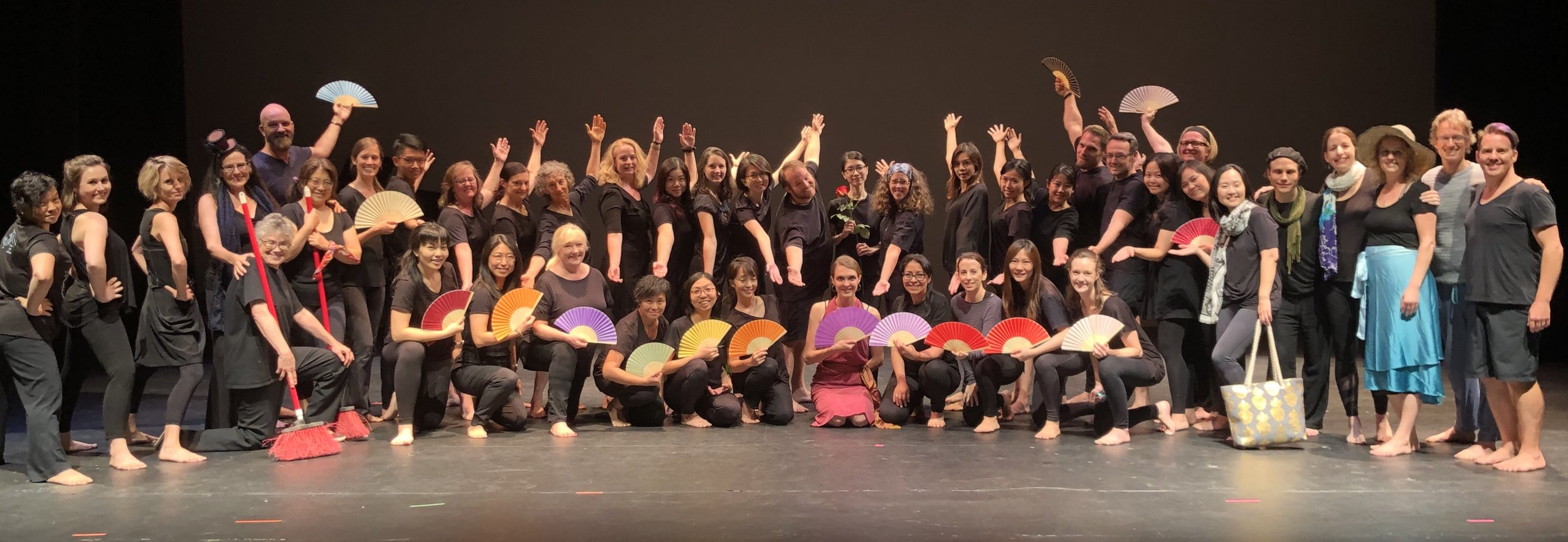 Congratulations to the dancers, musicians and faculty who made the 2019 Dalcroze™ Academy so memorable!