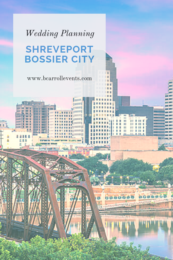Shreveport Bossier City Wedding Planning