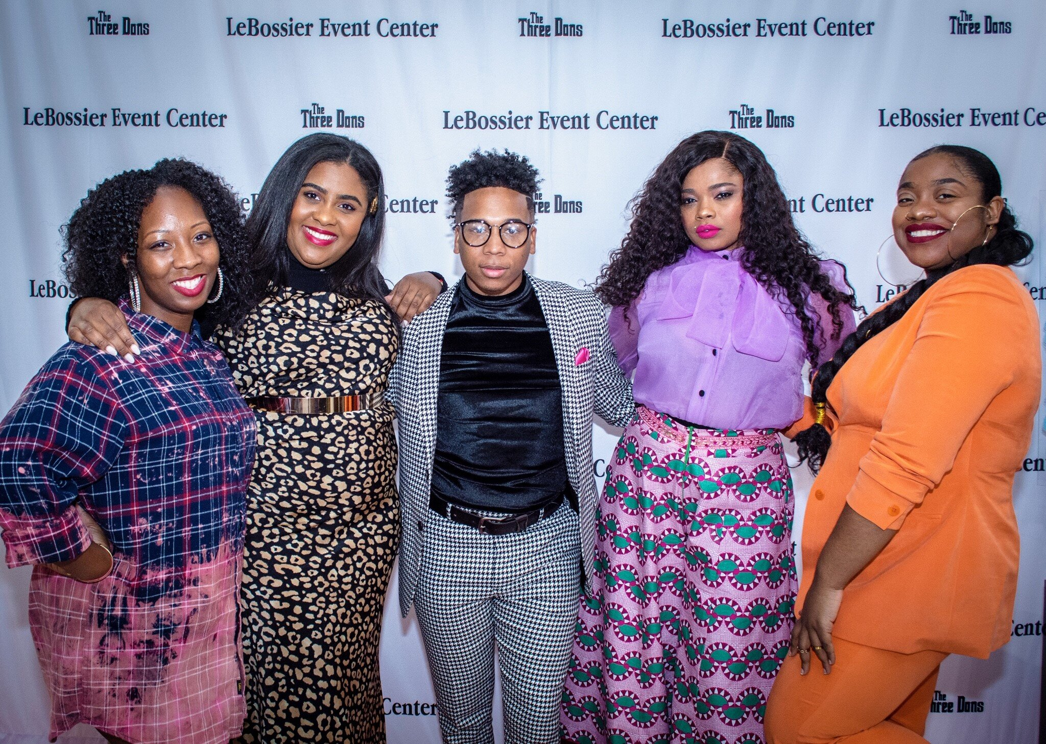 Bree of B Carroll Events, Alexis of Autumn Rose, Jaylon of J. Rachad, Niema of RNL Authentic LLC, Lydia of Looks Like LYD .  Photo by Jomaine Battles of Infinate Impressions.
